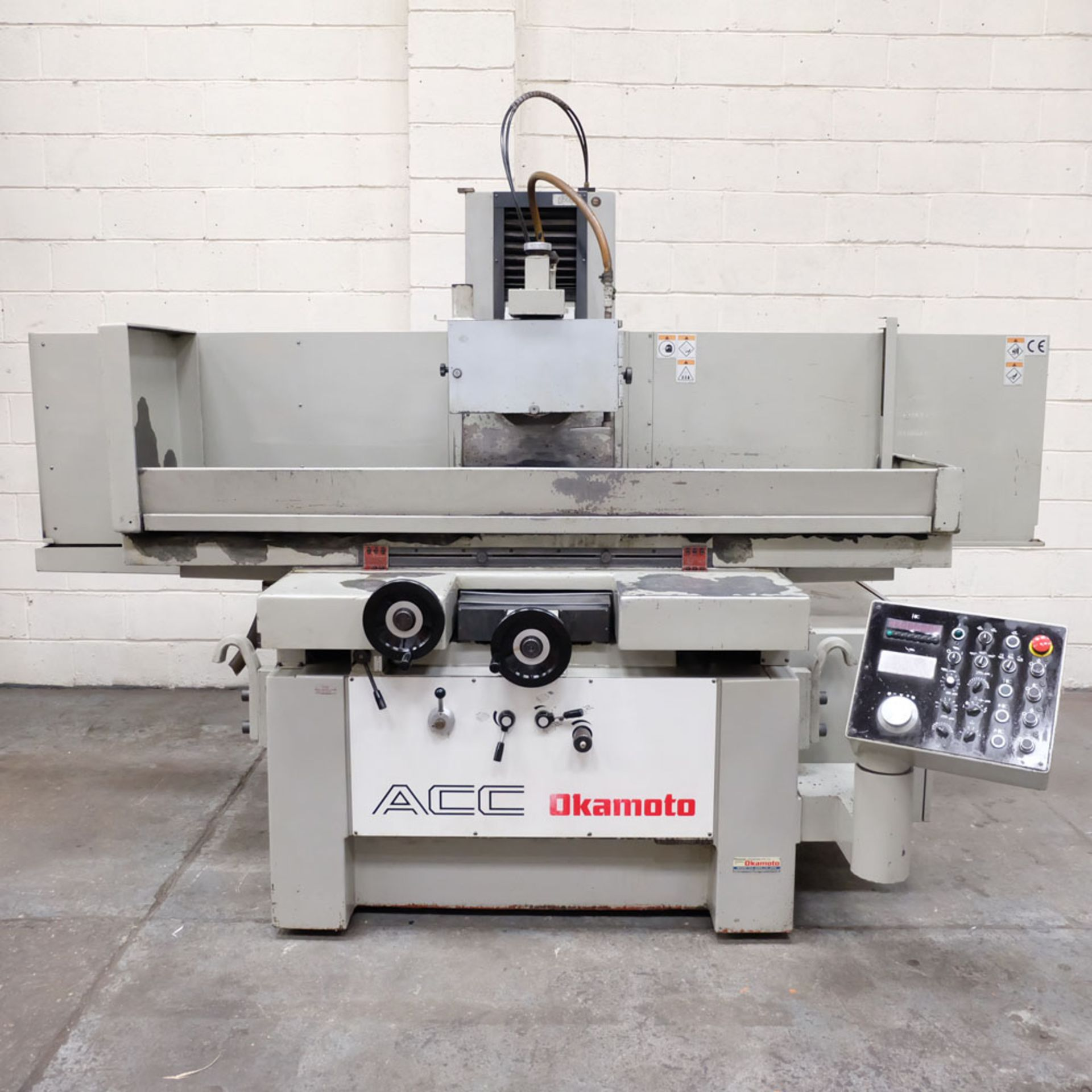 """Okamoto Type ACC-84 DX Precision Surface Grinding Machine. Grinding Capacity: 32"""" x 16""""(805 x 400mm)"""