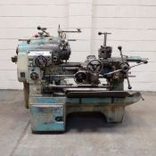 """Ward 2 C Capstan Lathe. With Collet Chuck. Swing Over Bed 12 3/4""""."""