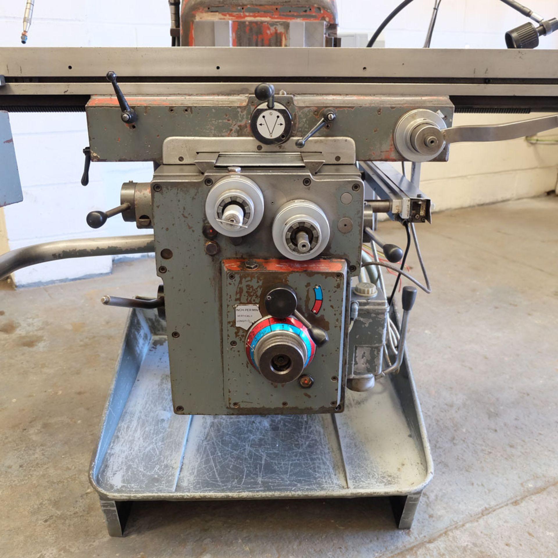 AJAX Model AJT.4 Turret Milling Machine. Table Size: 1372 x 280mm. - Image 6 of 8