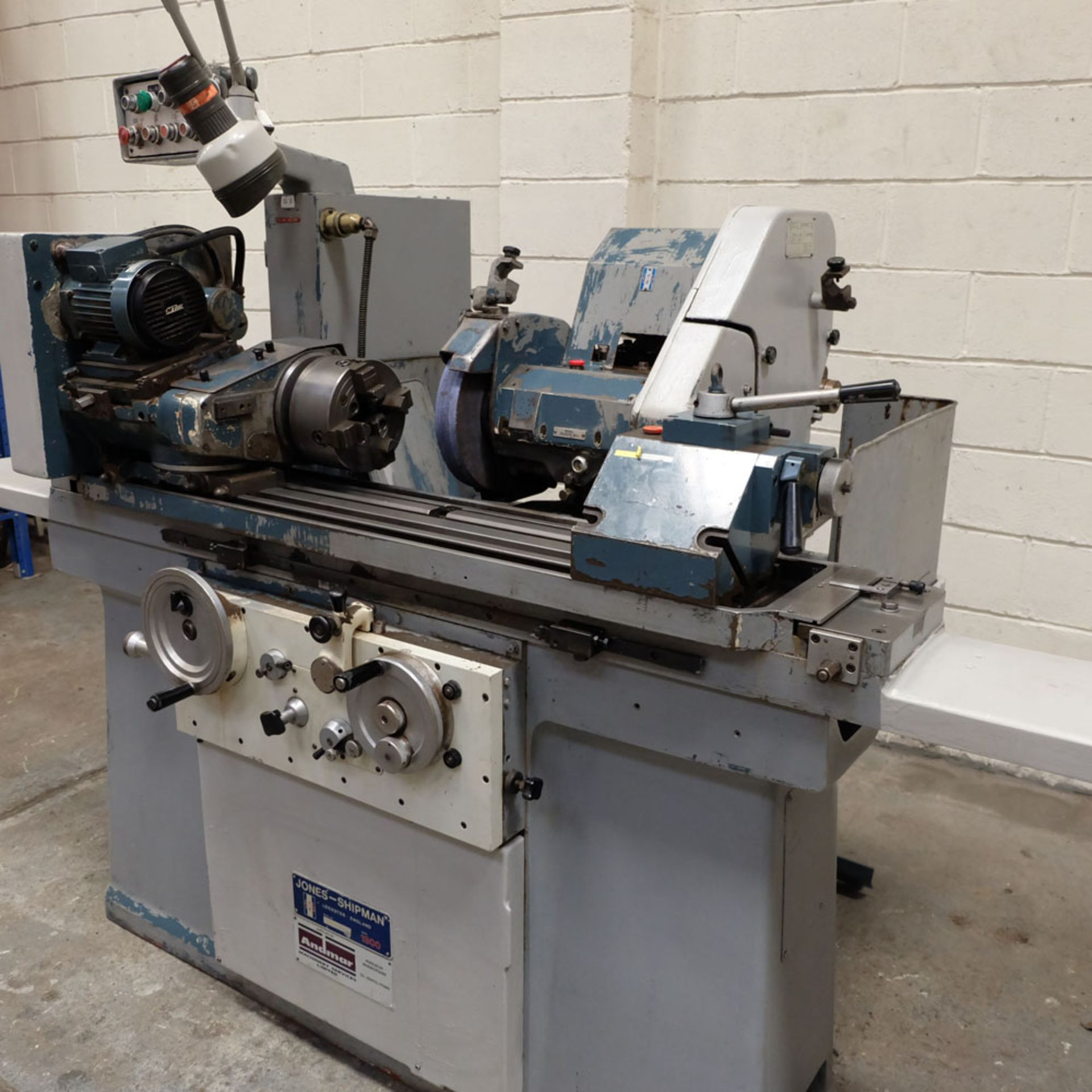 "Jones & Shipman Model 1311 EIU Universal Cylindrical Grinder. Capacity 10"" x 18"". - Image 3 of 10"