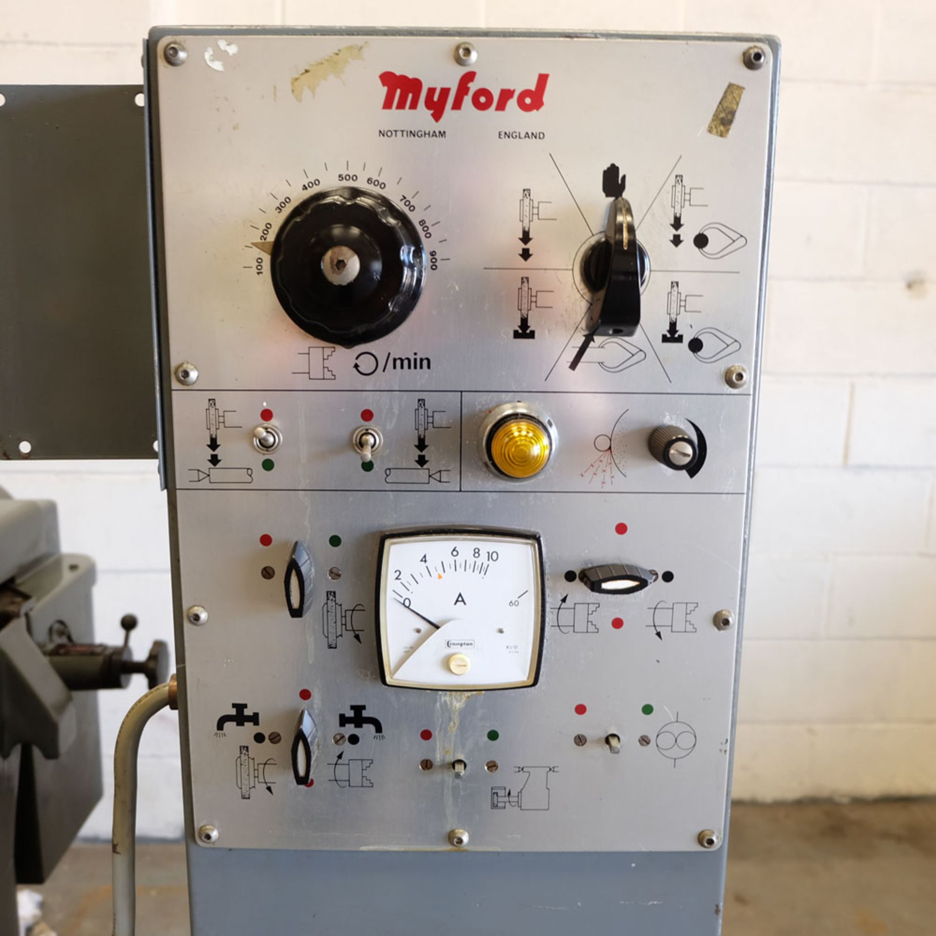 Myford Model MG12-HPT Automatic Cycle Traverse & Plunge Grinder. - Image 6 of 8