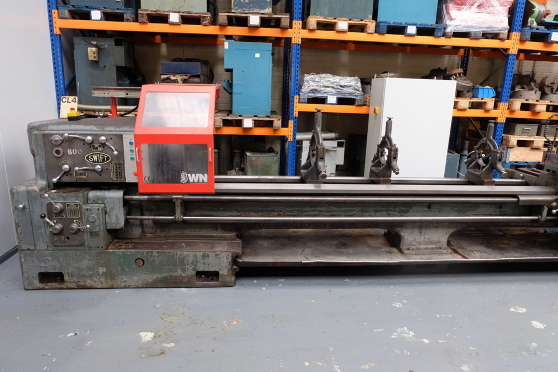 """Swift Type 11B SS and SC Centre Lathe. Between Centres 25'. Swing Over Bed 22"""". - Image 4 of 18"""