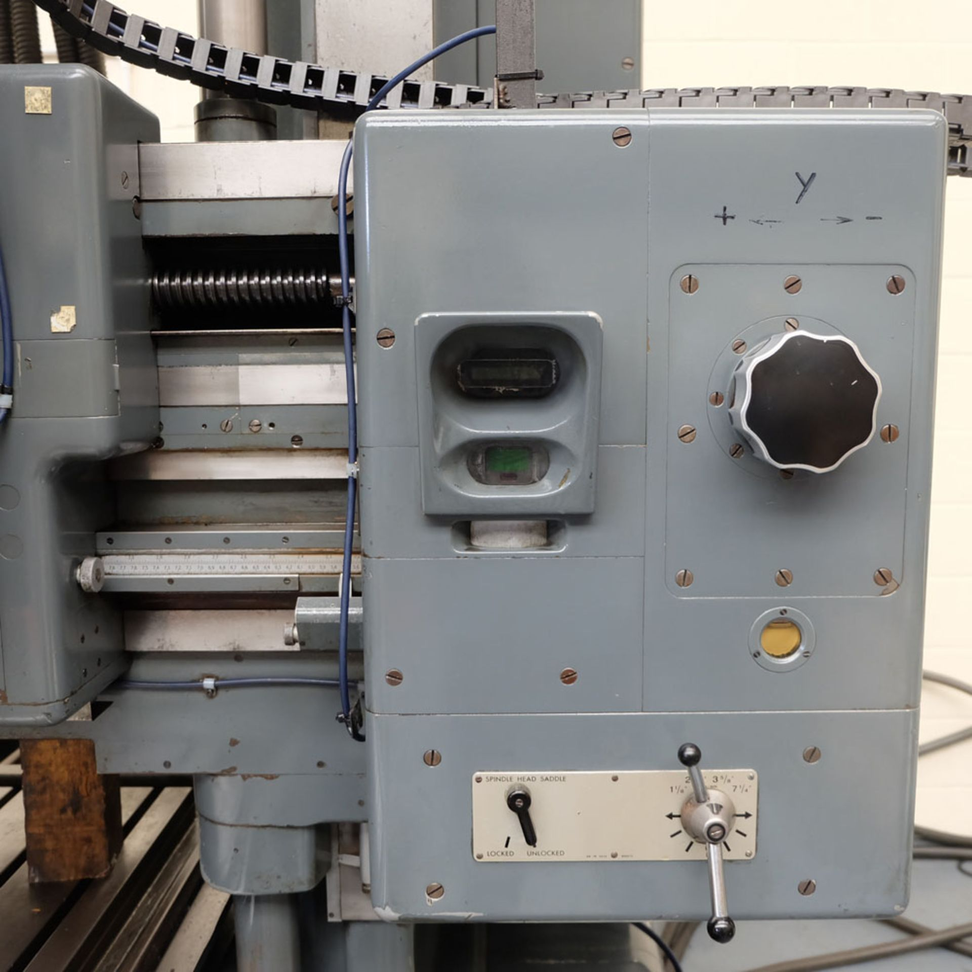 SIP Genevoise Hydroptic - 6A High Precision Jig Boring And Milling Machine. - Image 6 of 25
