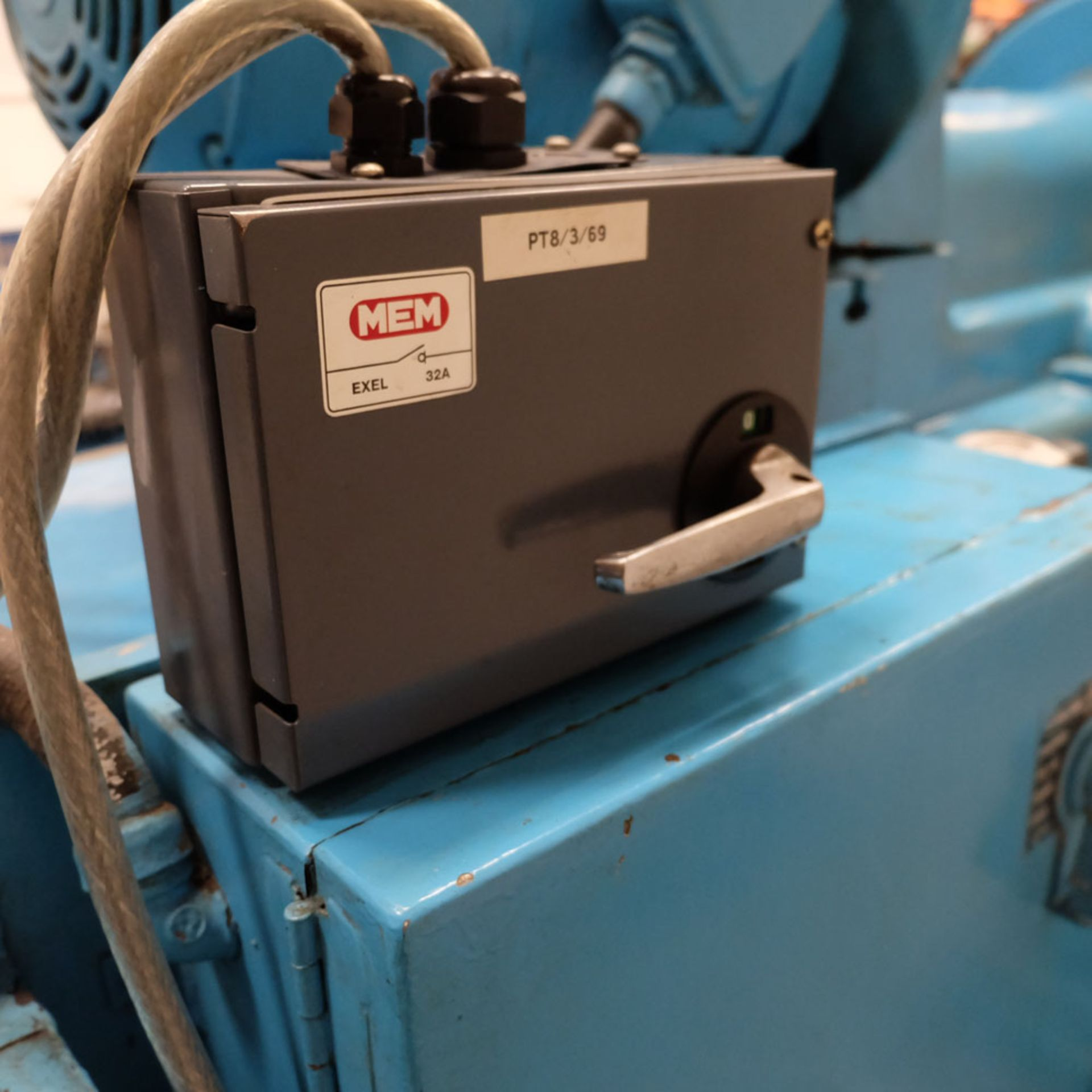 """Heald No.25A Rotary Ring Grinder. Grinding Wheel Size 18"""" Diameter. - Image 12 of 12"""
