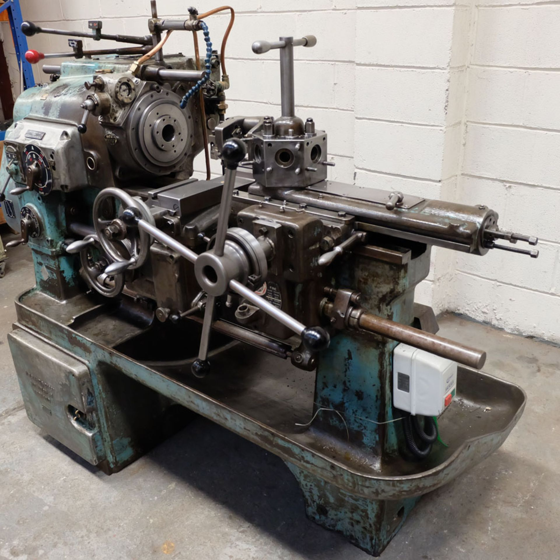 """Ward 2 C Capstan Lathe. With Collet Chuck. Swing Over Bed 12 3/4"""". - Image 3 of 6"""