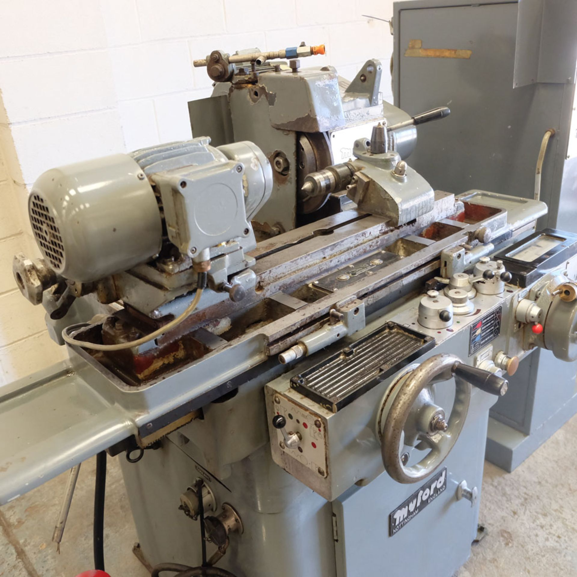 Myford Model MG12-HPT Automatic Cycle Traverse & Plunge Grinder. - Image 2 of 8