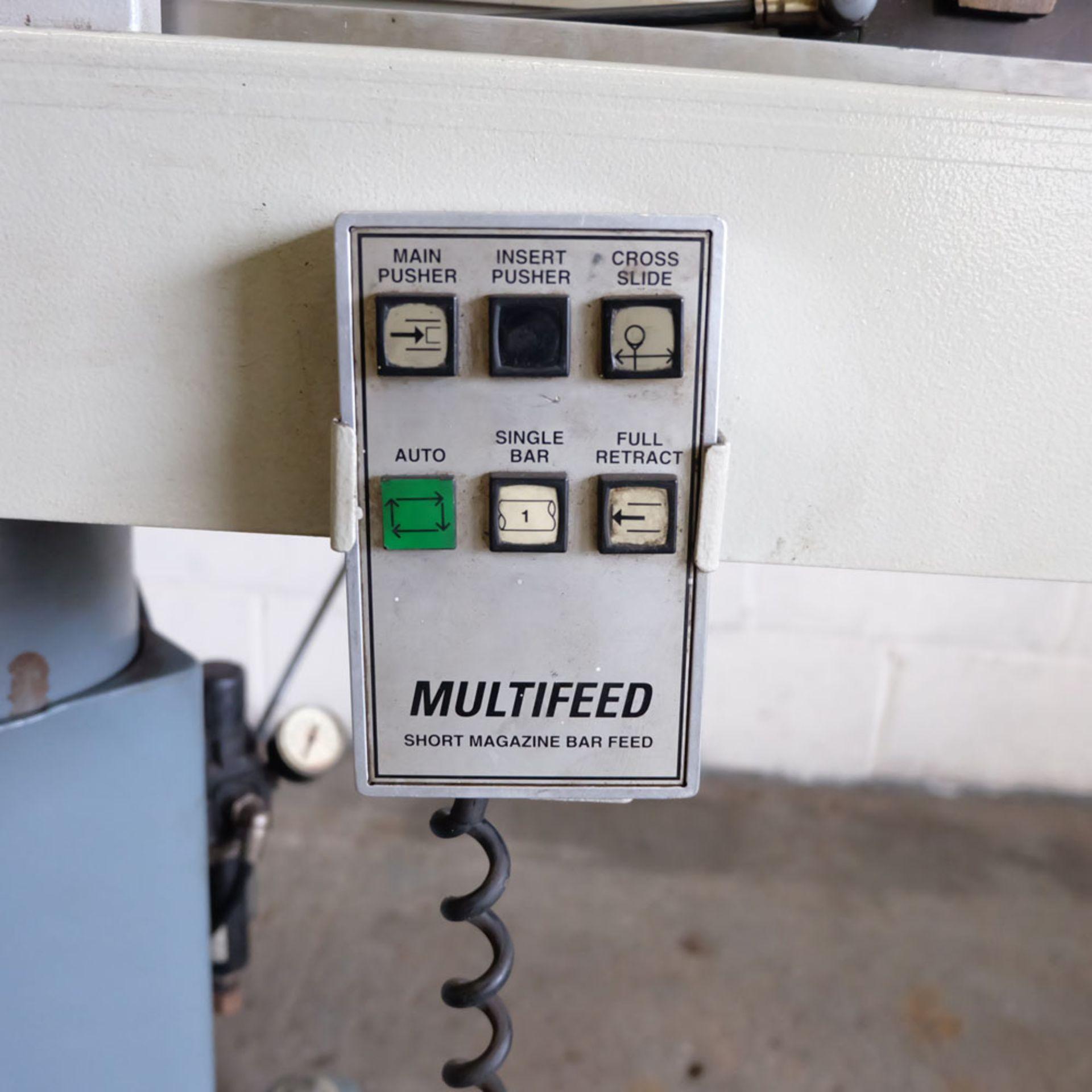 Multifeed Short Magazine CNC BarFeed. Model ML1. 220 Volt. Single Phase. - Image 7 of 9