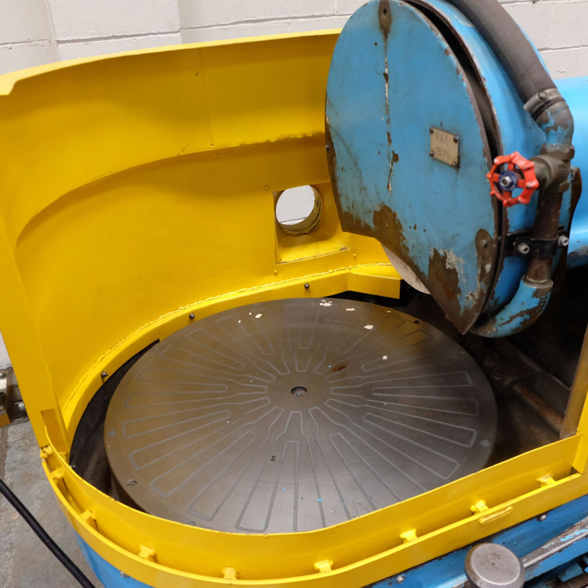 """Heald No.25A Rotary Ring Grinder. Grinding Wheel Size 18"""" Diameter. - Image 9 of 12"""