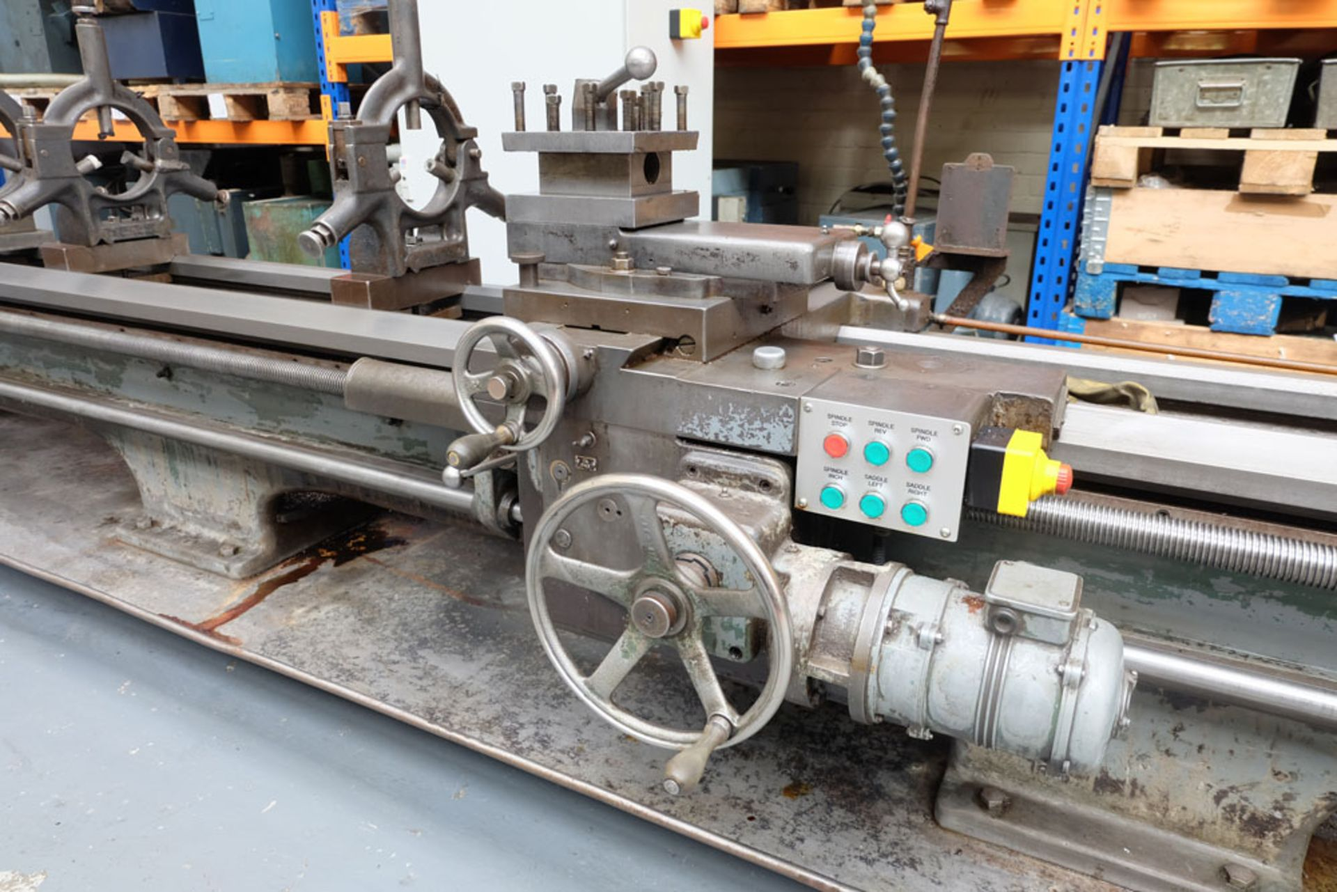 """Swift Type 11B SS and SC Centre Lathe. Between Centres 25'. Swing Over Bed 22"""". - Image 9 of 18"""