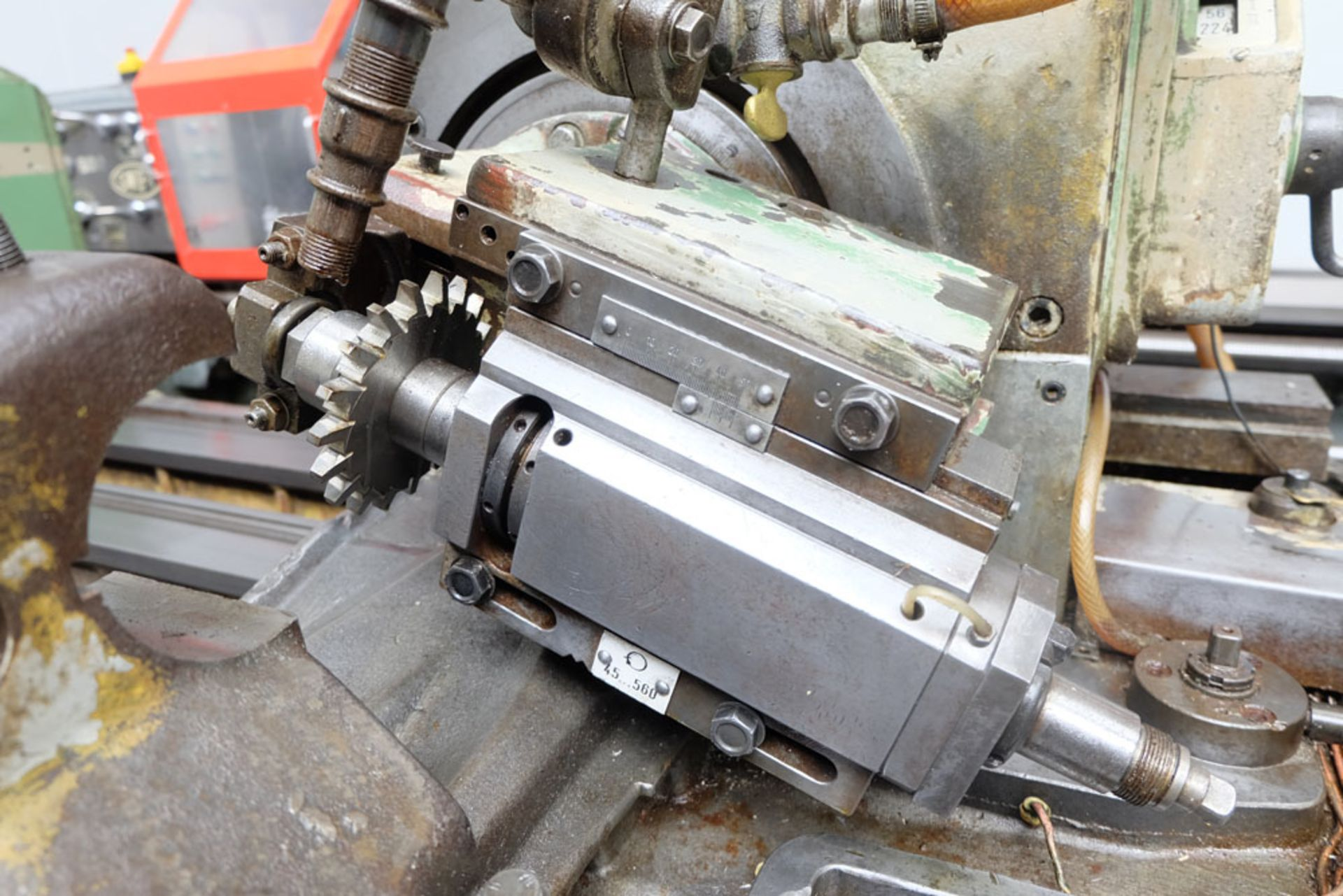 Heckert Type ZFWVG 25 x 5000 Long Thread and Spline Shaft Milling Machine. Centre Height 250mm. - Image 10 of 21