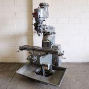 Bridgeport BR2J2 Series 1 Varispeed Turret Mill. Spindle Taper: R8.