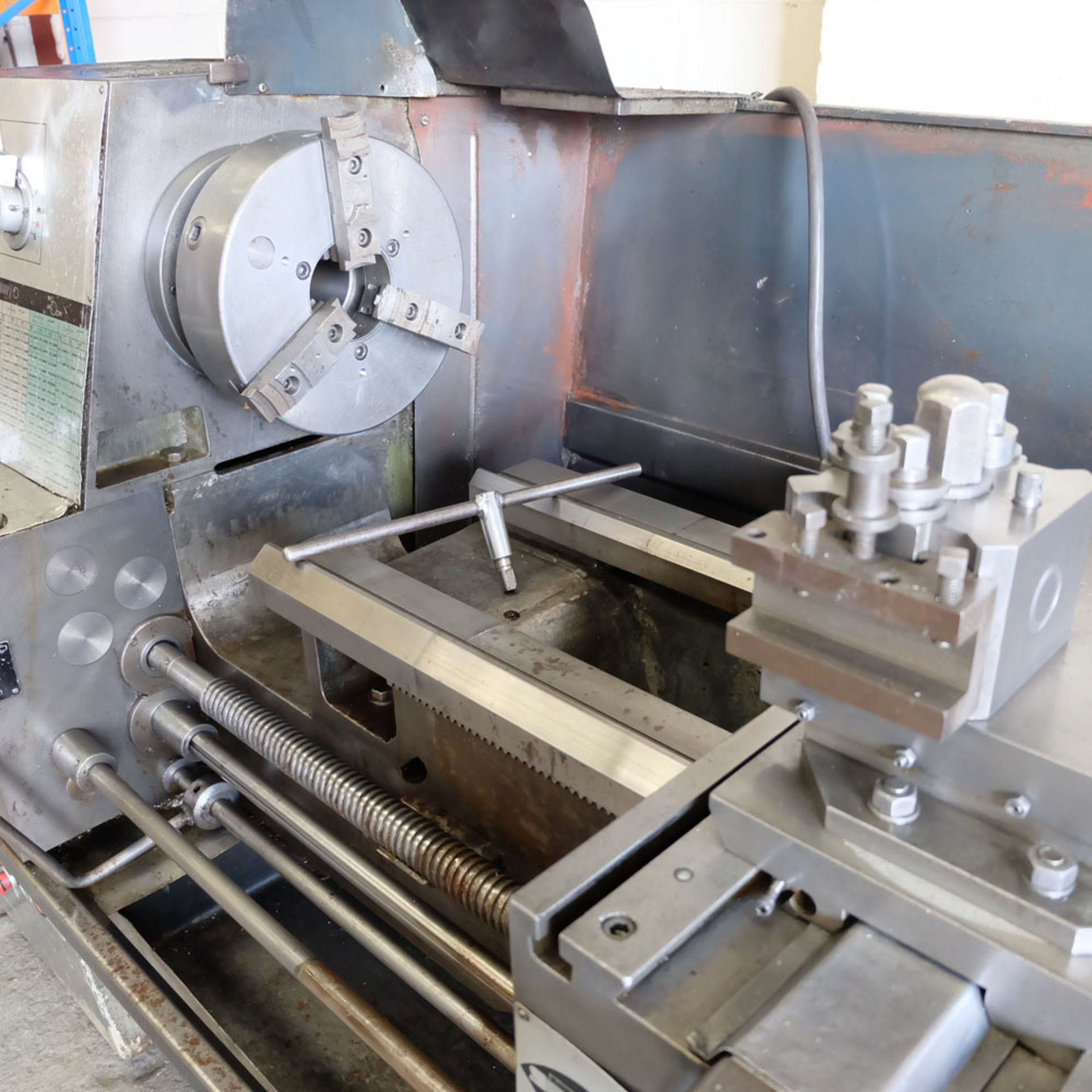 """Elliott 460 Gap Bed Centre Lathe. Swing Over Bed 18"""". Between Centres 60"""". - Image 2 of 7"""
