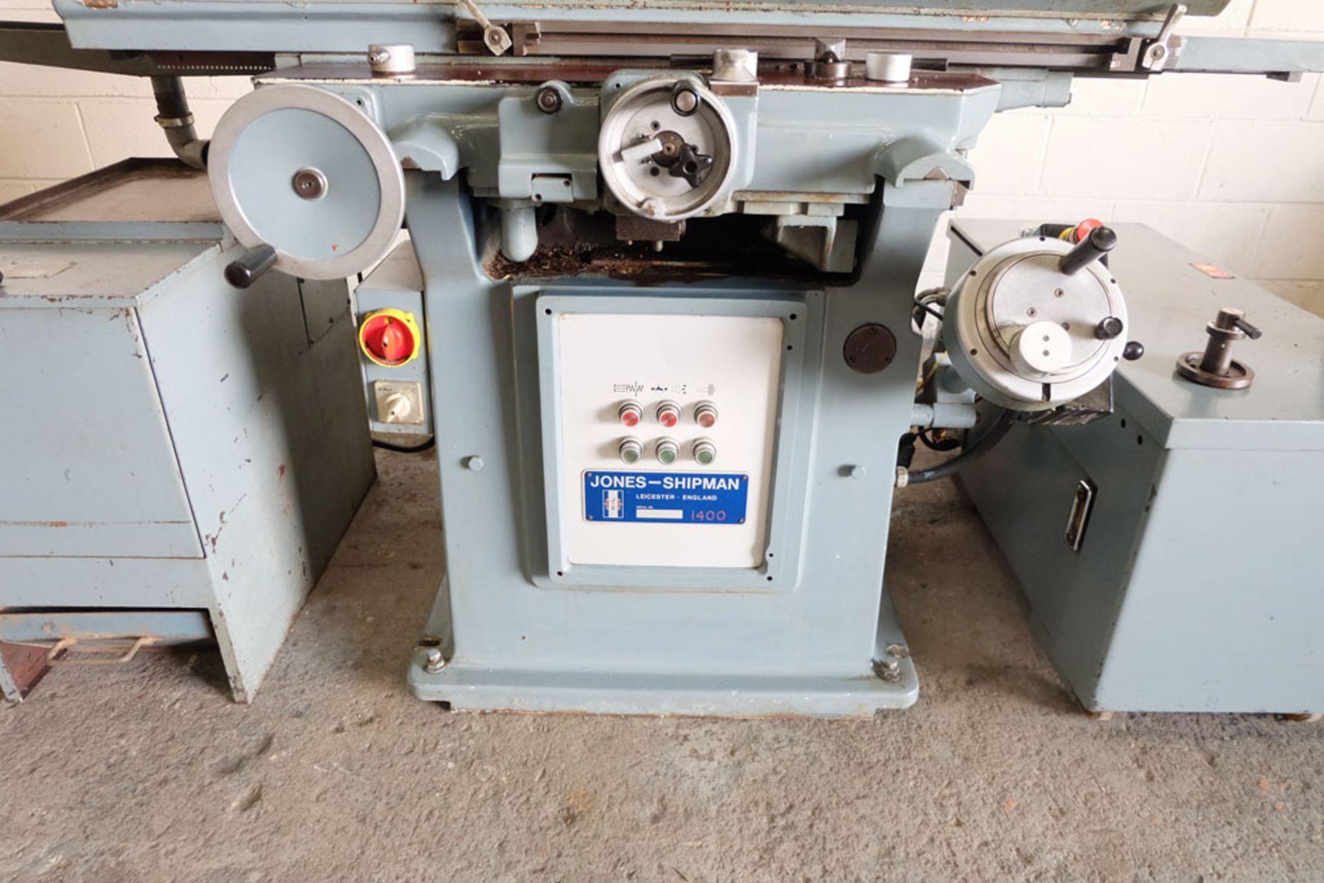 Jones & Shipman 1400P Toolroom Surface Grinder. - Image 6 of 13