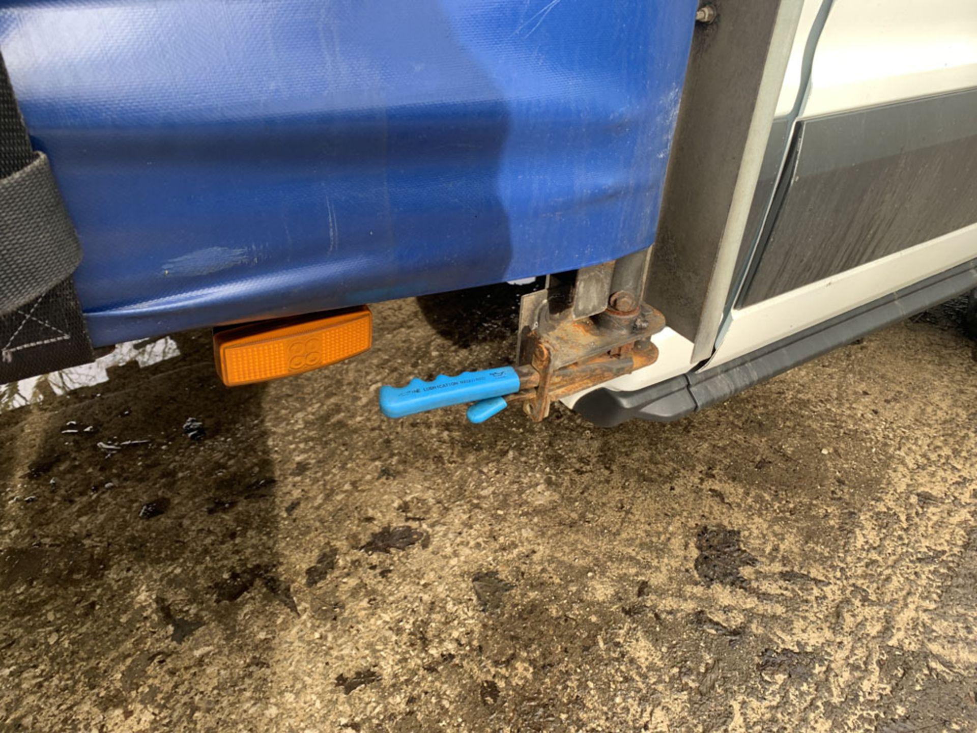 Ford Transit Curtain-Sider. 2016 (65 Reg). 152,241 Miles. 2.2 Ltr Diesel. Standard Cab. - Image 9 of 17