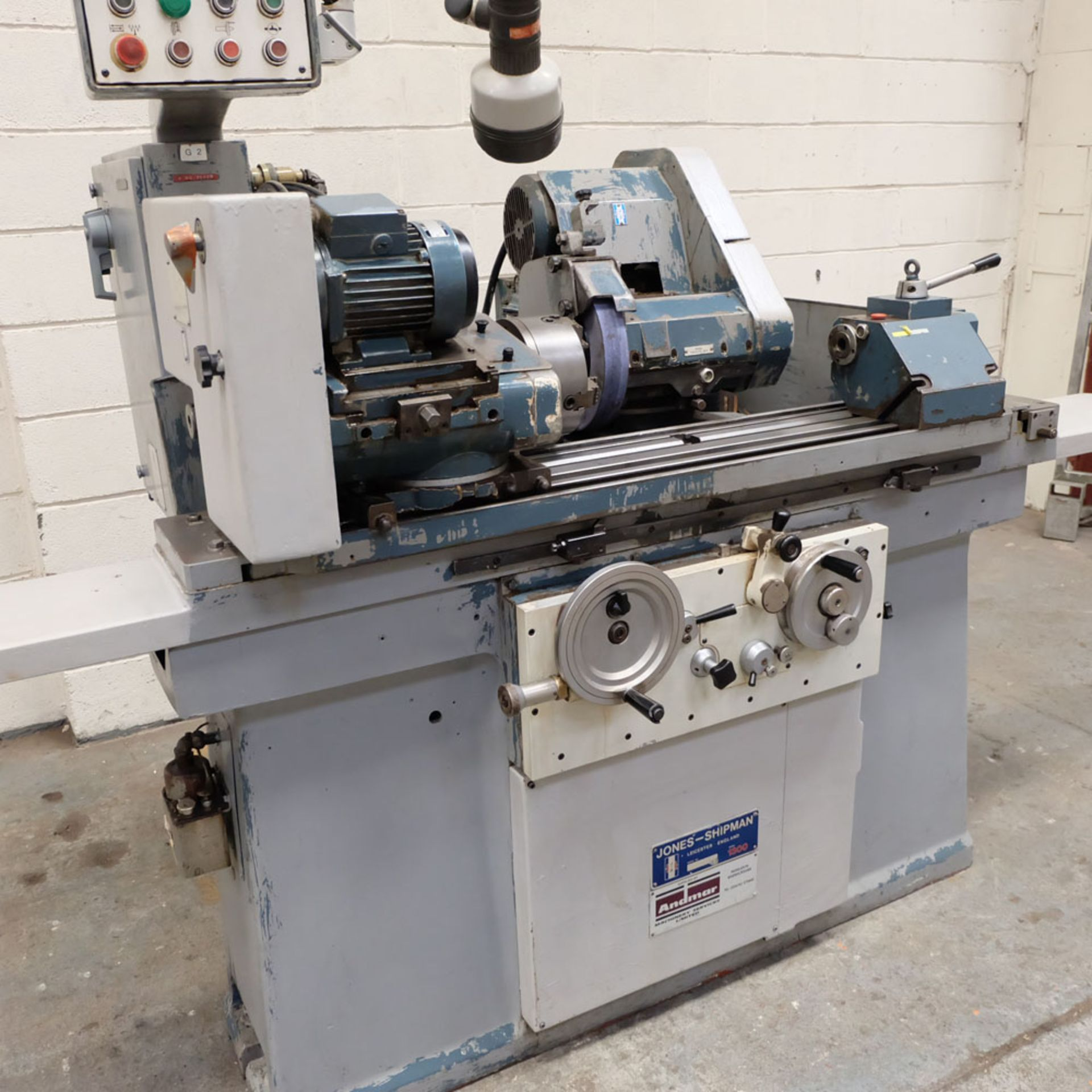 "Jones & Shipman Model 1311 EIU Universal Cylindrical Grinder. Capacity 10"" x 18"". - Image 4 of 10"