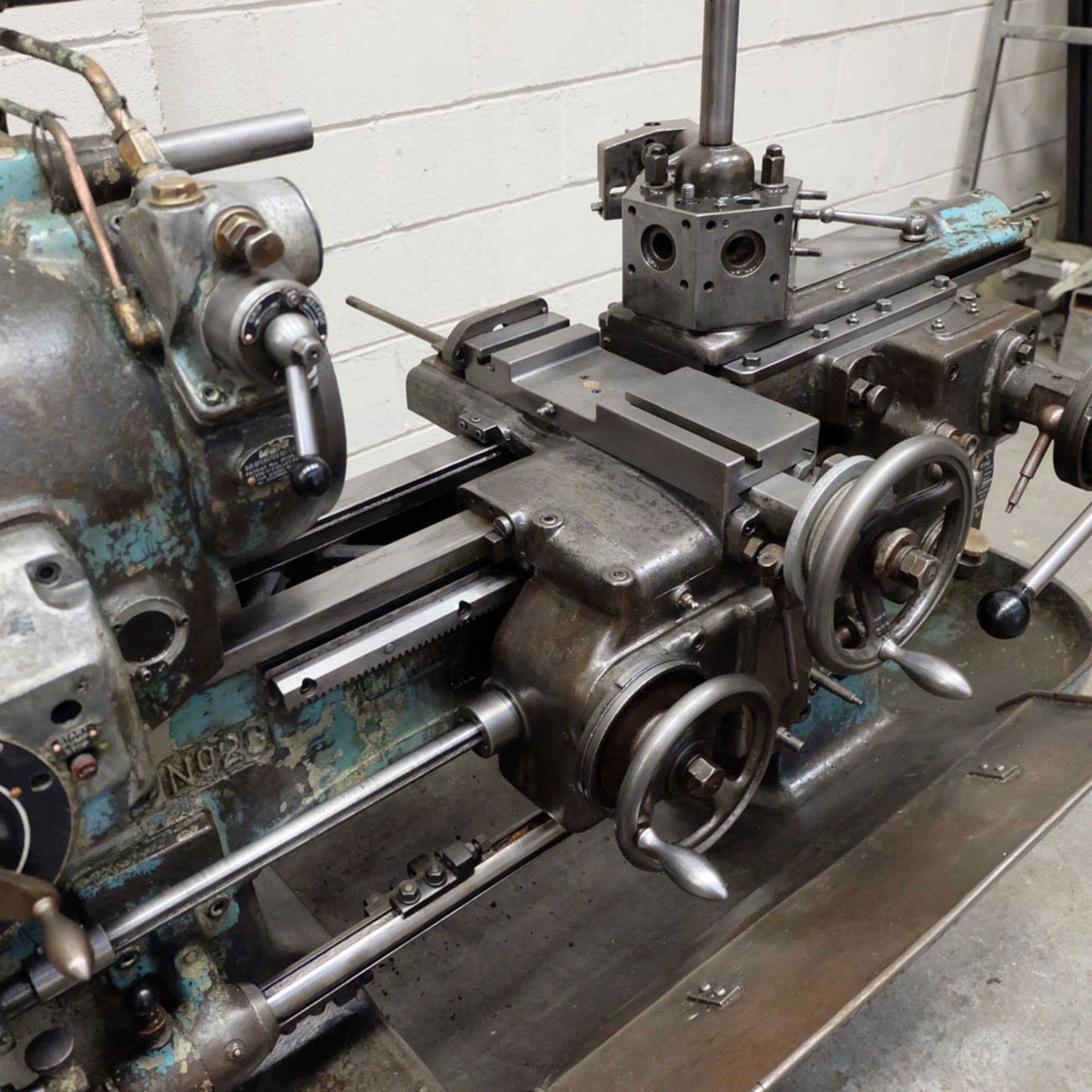 """Ward 2 C Capstan Lathe. With Collet Chuck. Swing Over Bed 12 3/4"""". - Image 5 of 6"""