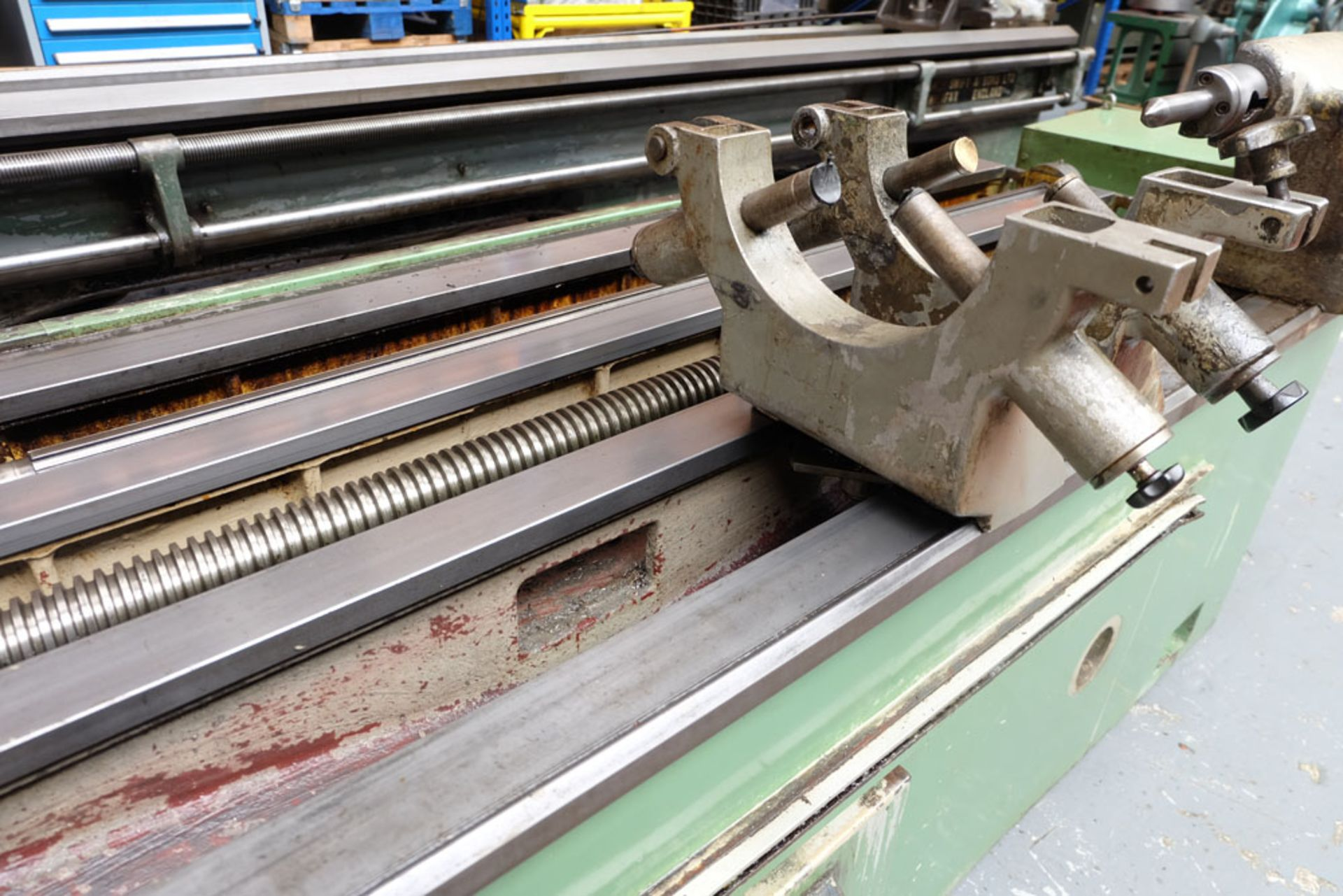 Heckert Type ZFWVG 25 x 5000 Long Thread and Spline Shaft Milling Machine. Centre Height 250mm. - Image 12 of 21