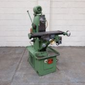 """Harrison Special Purpose Horizontal Milling Machine. Table Size 30"""" x 8""""."""
