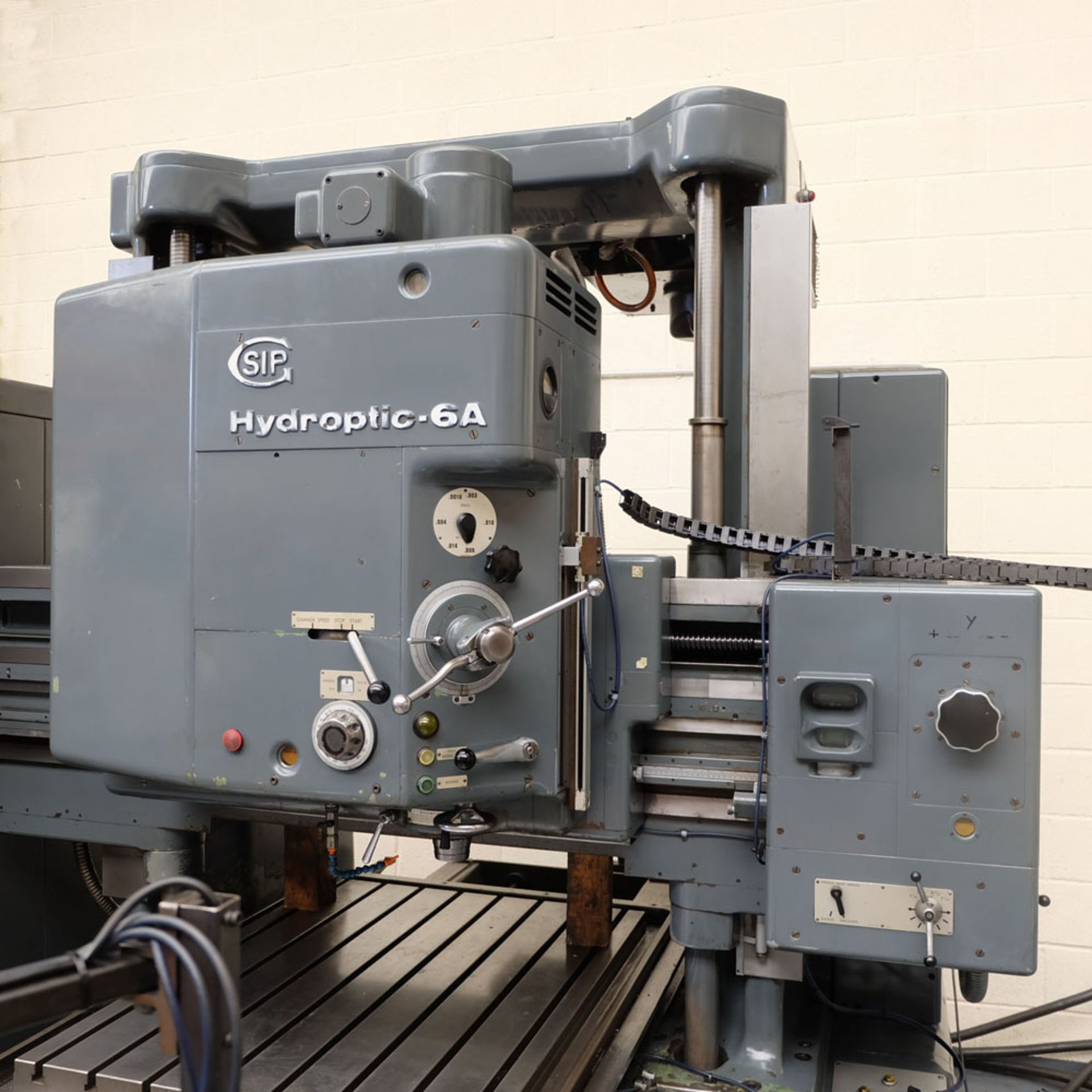 SIP Genevoise Hydroptic - 6A High Precision Jig Boring And Milling Machine. - Image 2 of 25
