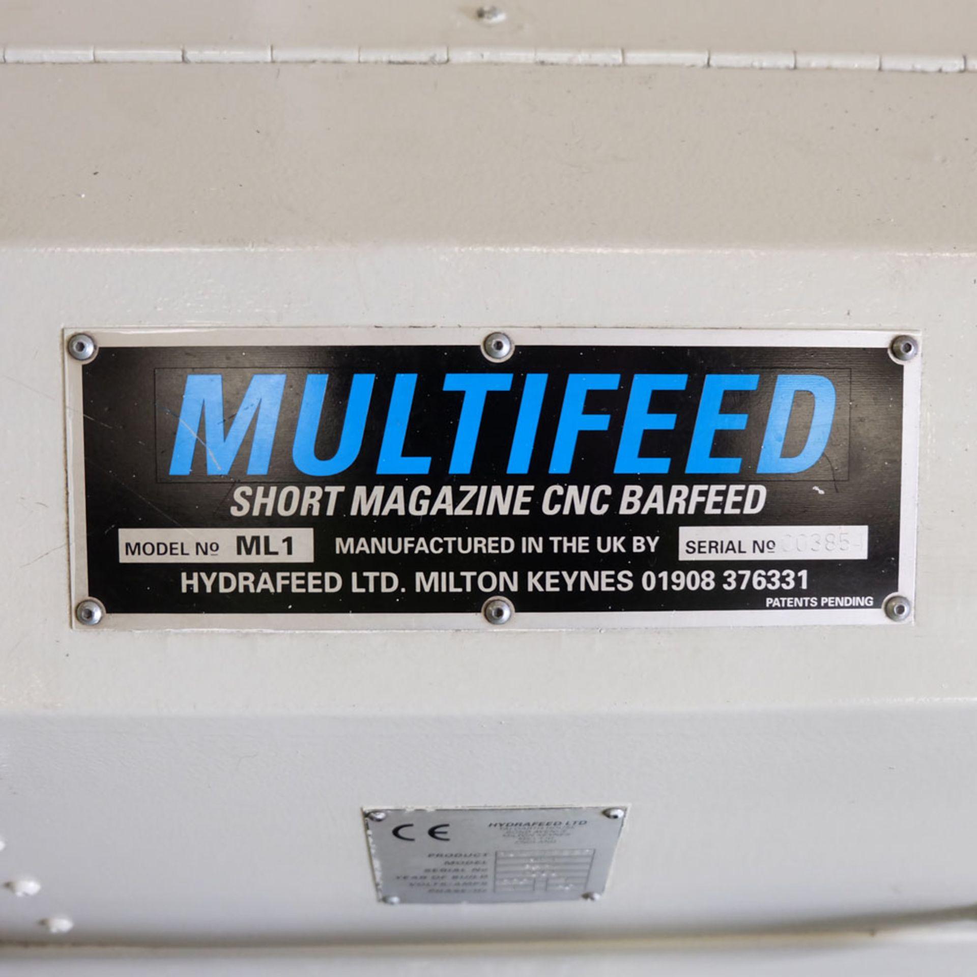 Multifeed Short Magazine CNC BarFeed. Model ML1. 220 Volt. Single Phase. - Image 9 of 9