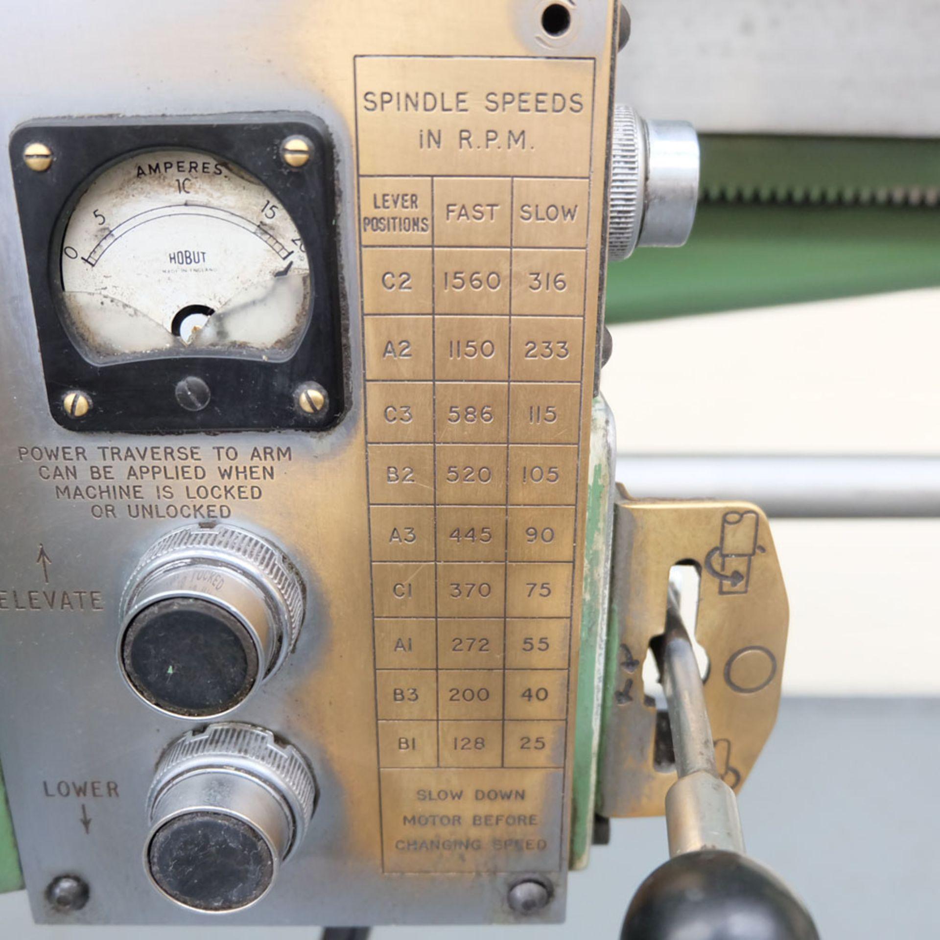 Kitchen-Walker Model E50-1400 4 1/2 FT Radial Alarm Drill. - Image 8 of 16