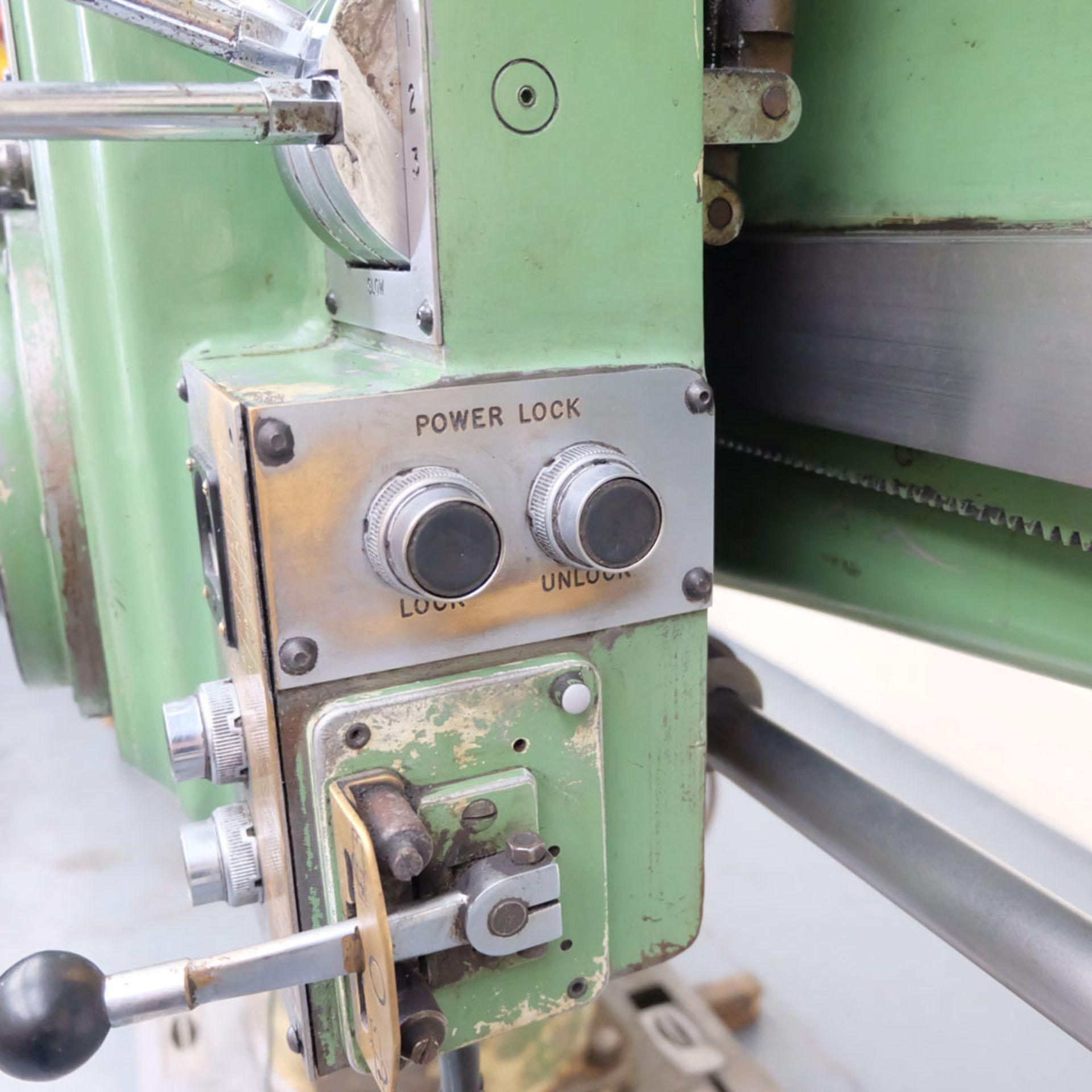Kitchen-Walker Model E50-1400 4 1/2 FT Radial Alarm Drill. - Image 9 of 16