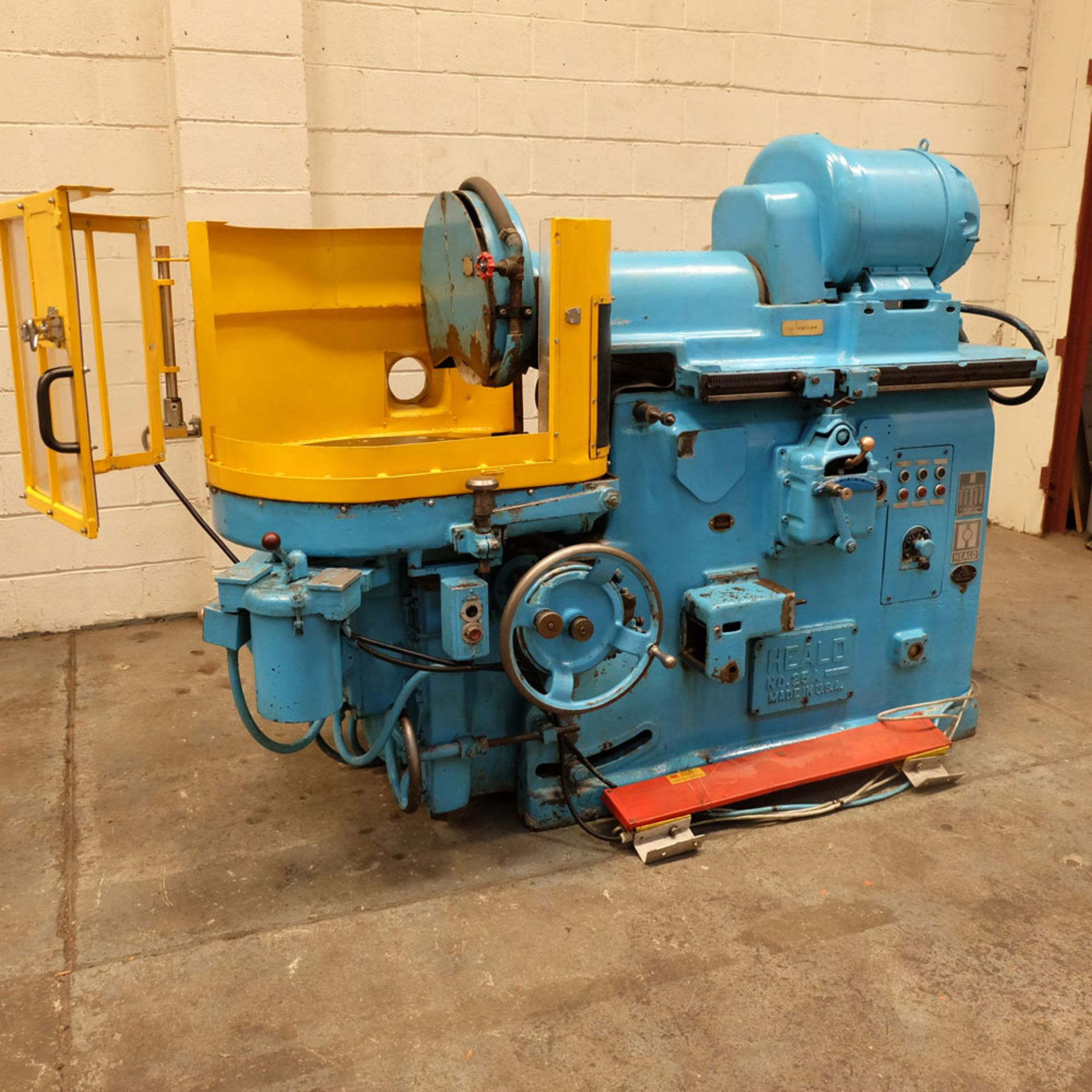 """Heald No.25A Rotary Ring Grinder. Grinding Wheel Size 18"""" Diameter. - Image 3 of 12"""