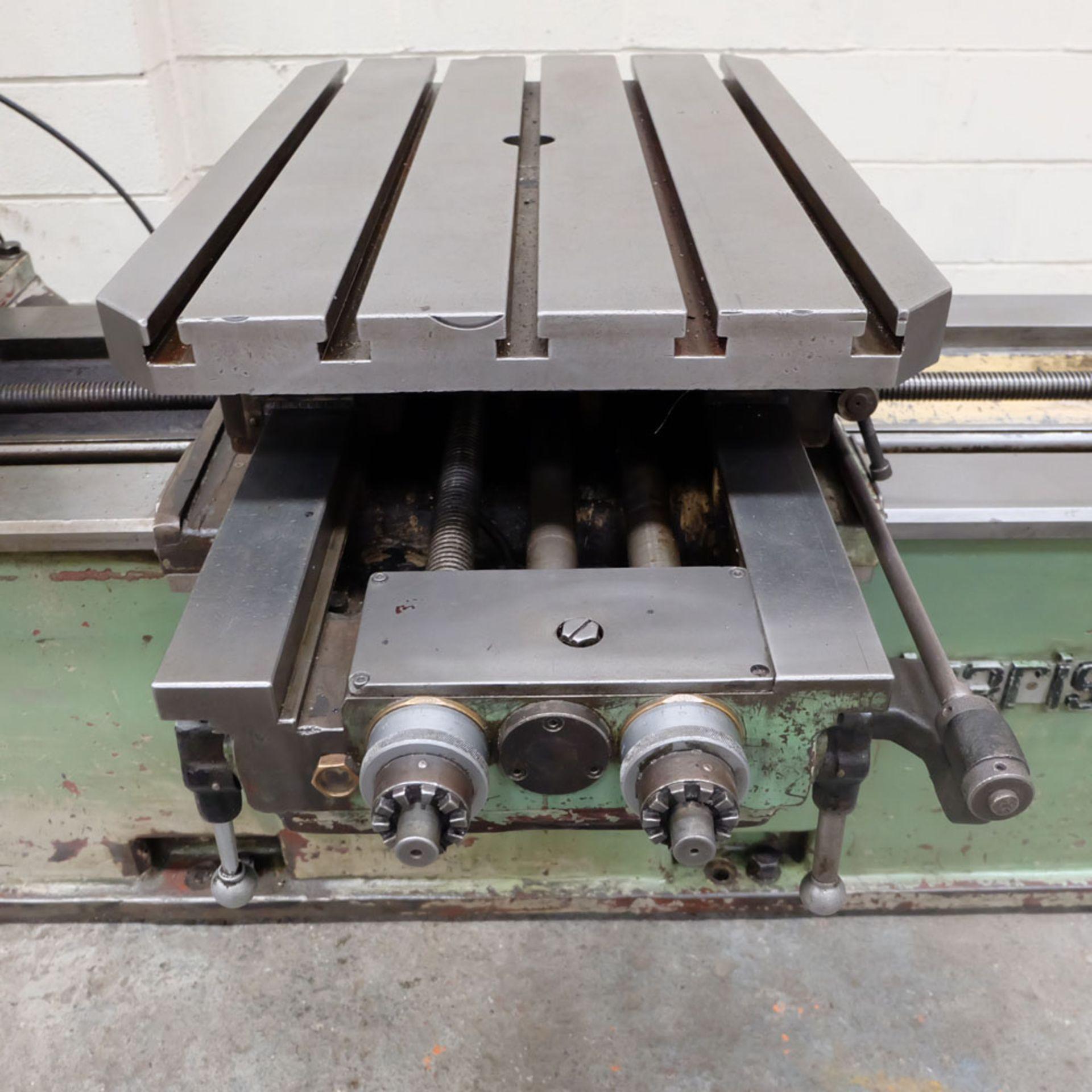 Juaristi Model MDR-55 Horizontal Boring Machine. Spindle Size: 55mm Dia. Spindle Bore: No.4 MT. - Image 10 of 14