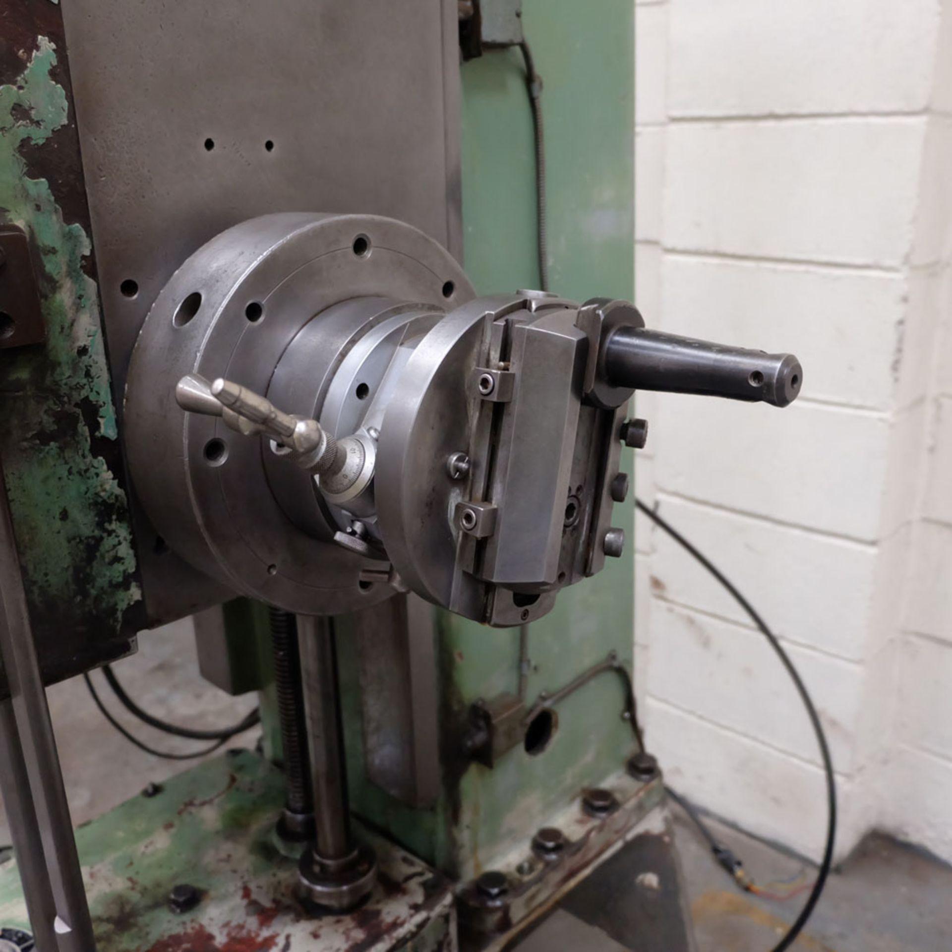 Juaristi Model MDR-55 Horizontal Boring Machine. Spindle Size: 55mm Dia. Spindle Bore: No.4 MT. - Image 9 of 14