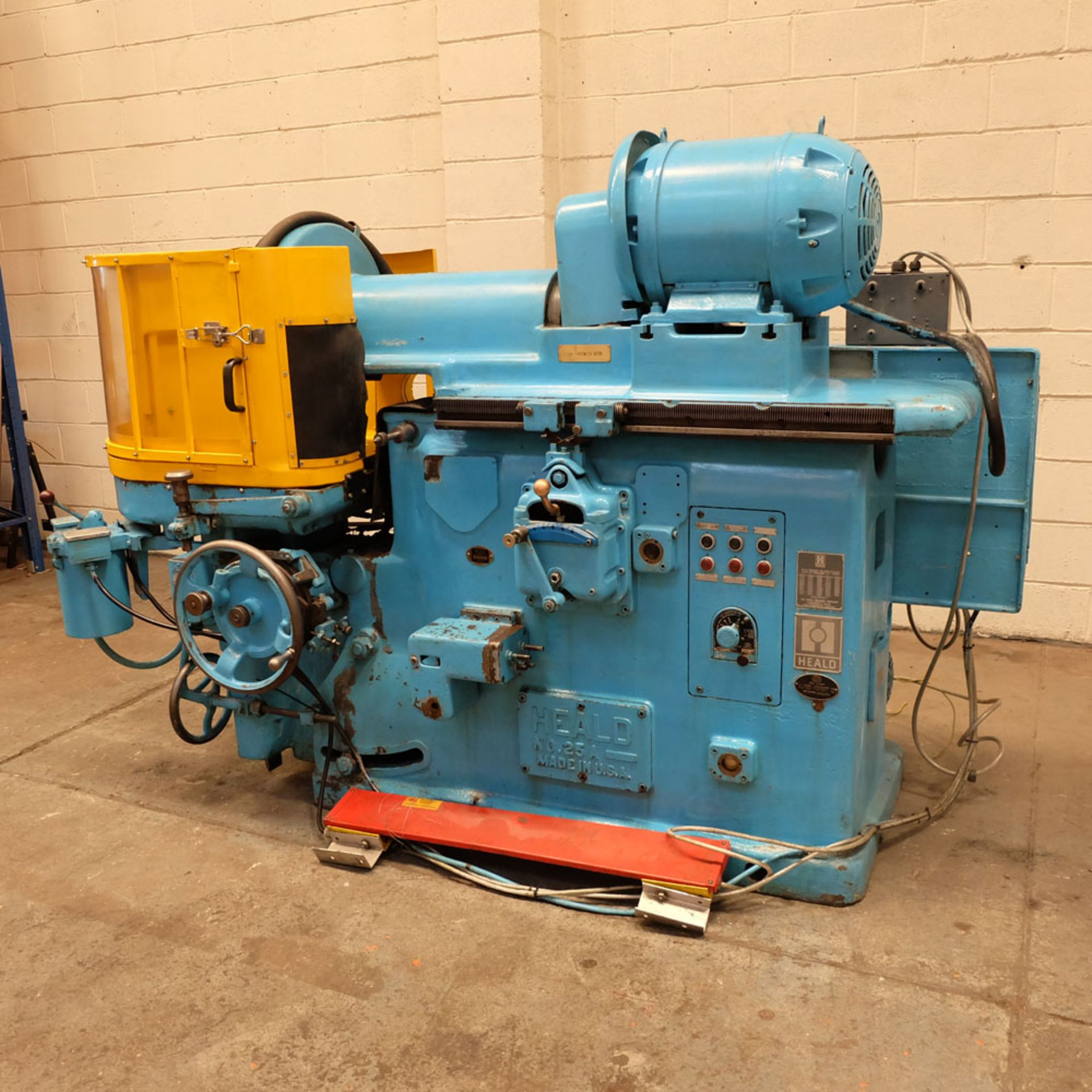 """Heald No.25A Rotary Ring Grinder. Grinding Wheel Size 18"""" Diameter. - Image 2 of 12"""