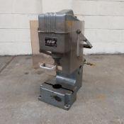 Sharp & Wright Pneumatic Bench Press. Stroke of Ram 200mm.