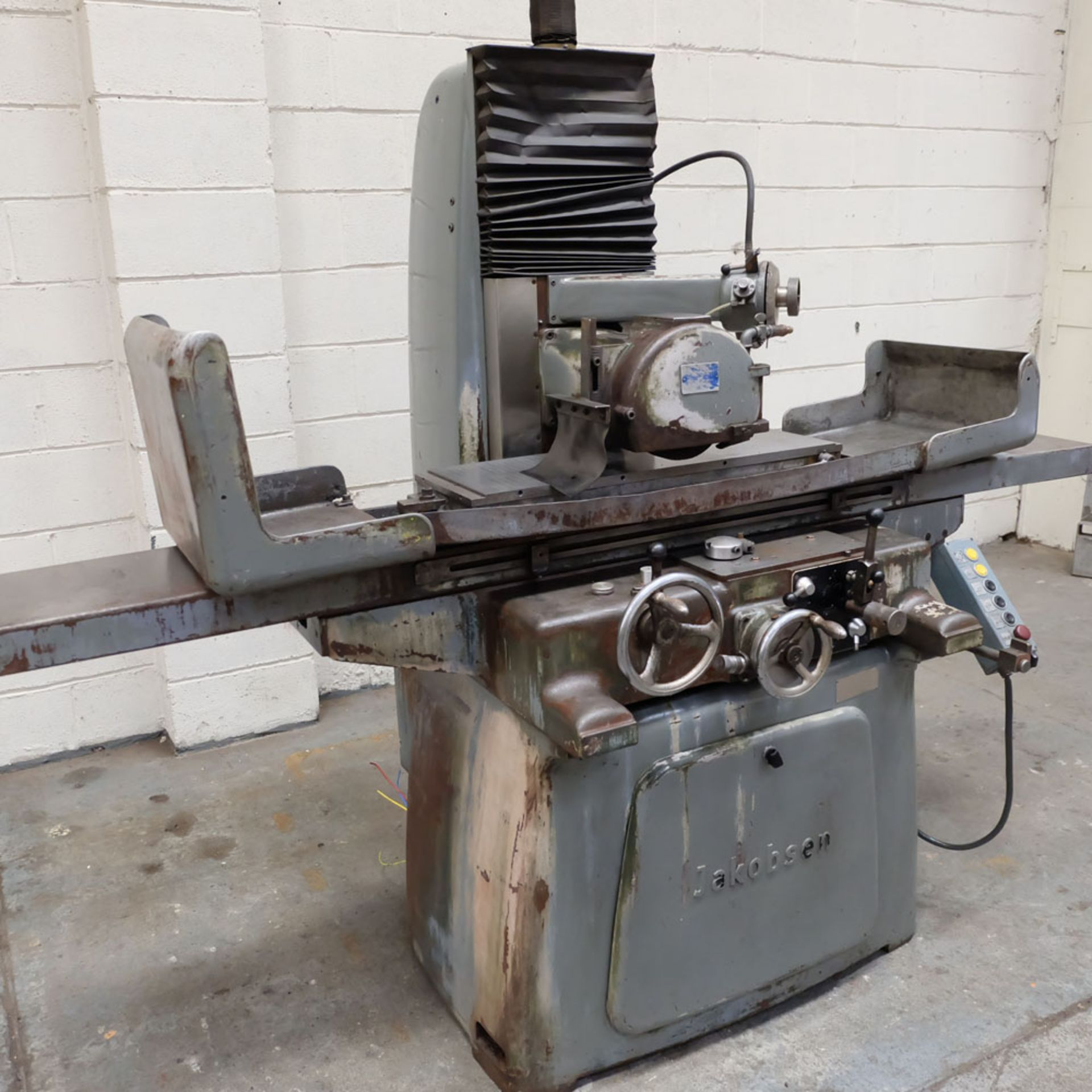 Jakobson Surface Grinder. Table Size 800 x 250mm. - Image 2 of 5