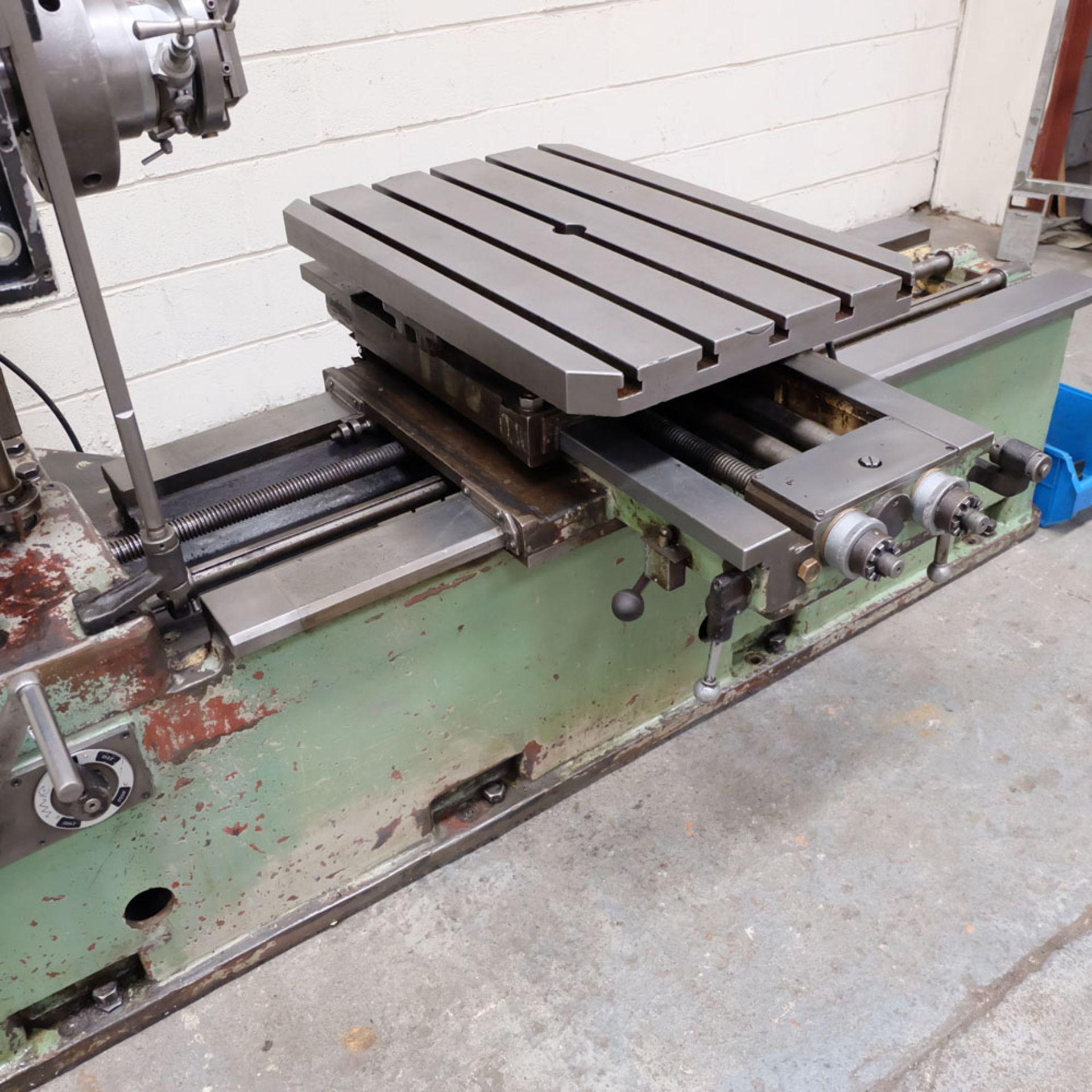 Juaristi Model MDR-55 Horizontal Boring Machine. Spindle Size: 55mm Dia. Spindle Bore: No.4 MT. - Image 6 of 14
