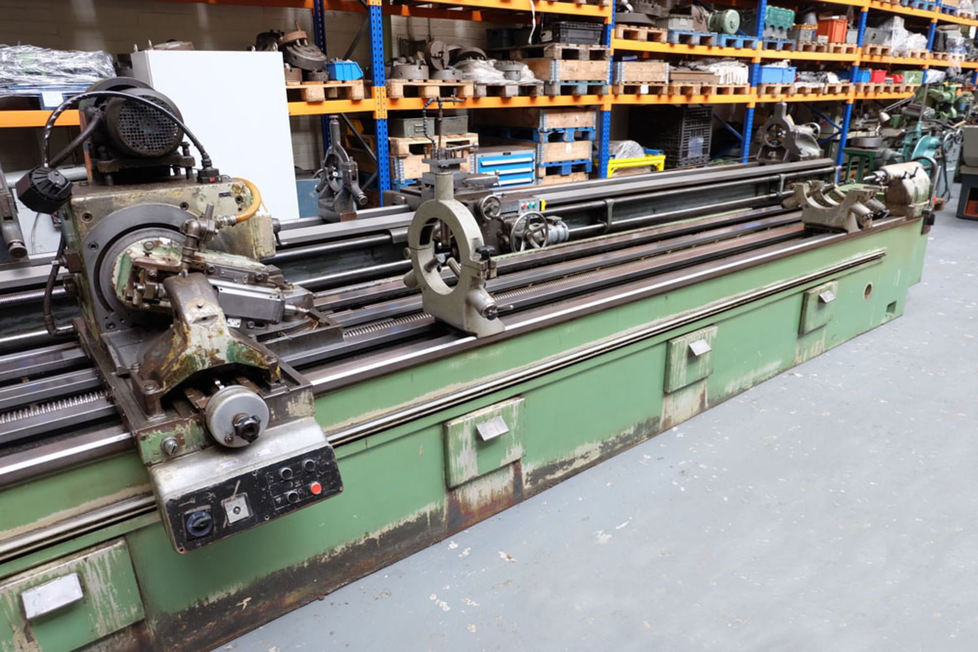 Heckert Type ZFWVG 25 x 5000 Long Thread and Spline Shaft Milling Machine. Centre Height 250mm. - Image 8 of 21