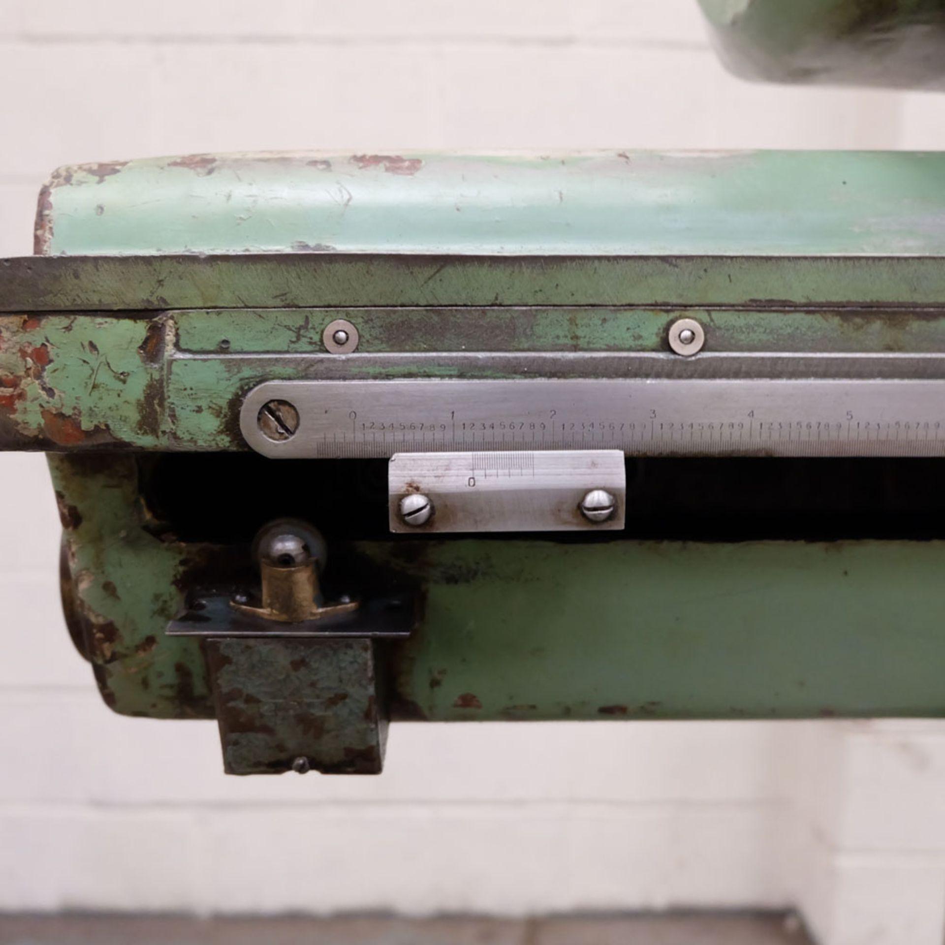 Juaristi Model MDR-55 Horizontal Boring Machine. Spindle Size: 55mm Dia. Spindle Bore: No.4 MT. - Image 12 of 14