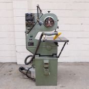 """Startrite Volant Vertical Bandsaw. Table Size: 19"""" x 17"""". Throat: 18""""."""