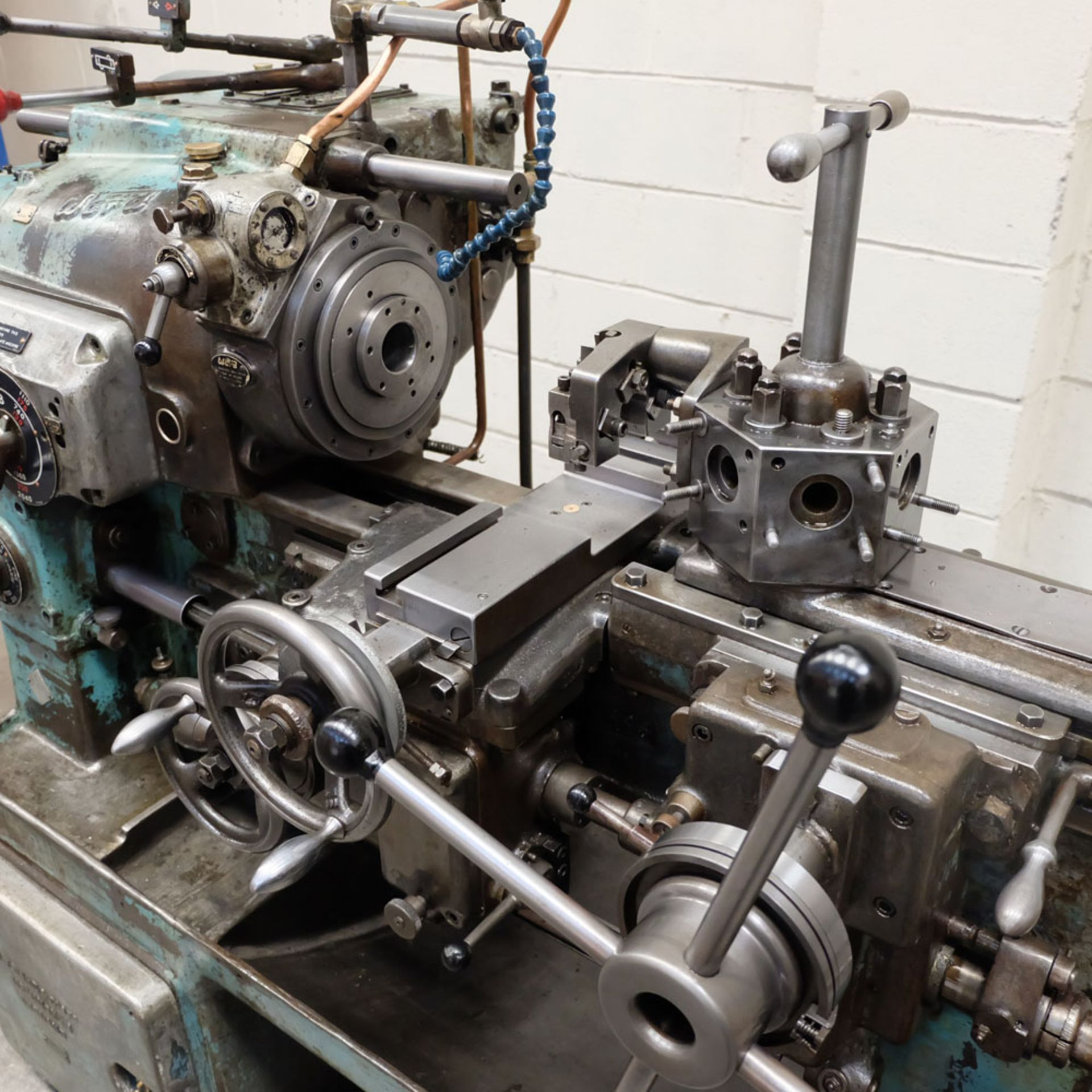 """Ward 2 C Capstan Lathe. With Collet Chuck. Swing Over Bed 12 3/4"""". - Image 6 of 6"""