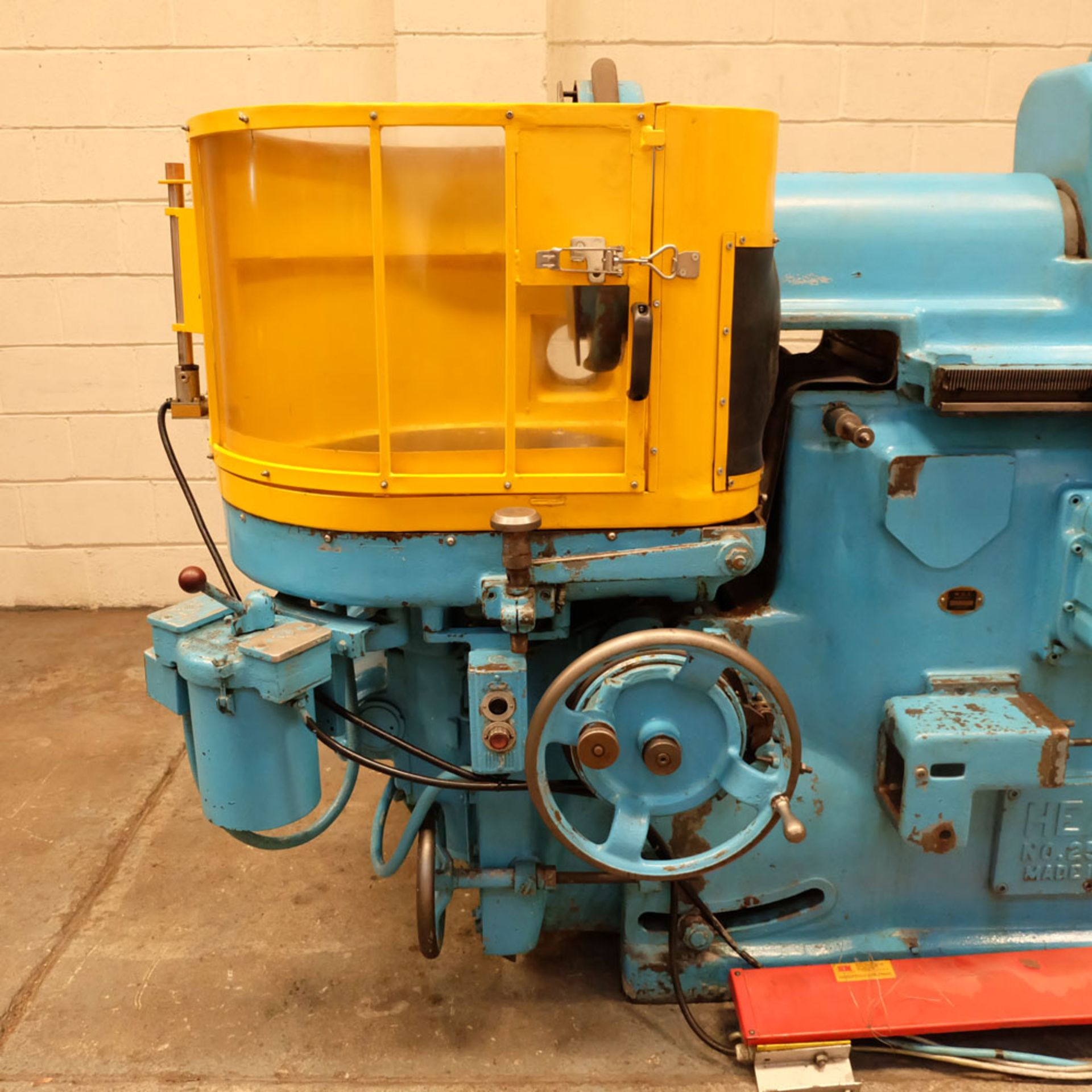 """Heald No.25A Rotary Ring Grinder. Grinding Wheel Size 18"""" Diameter. - Image 5 of 12"""