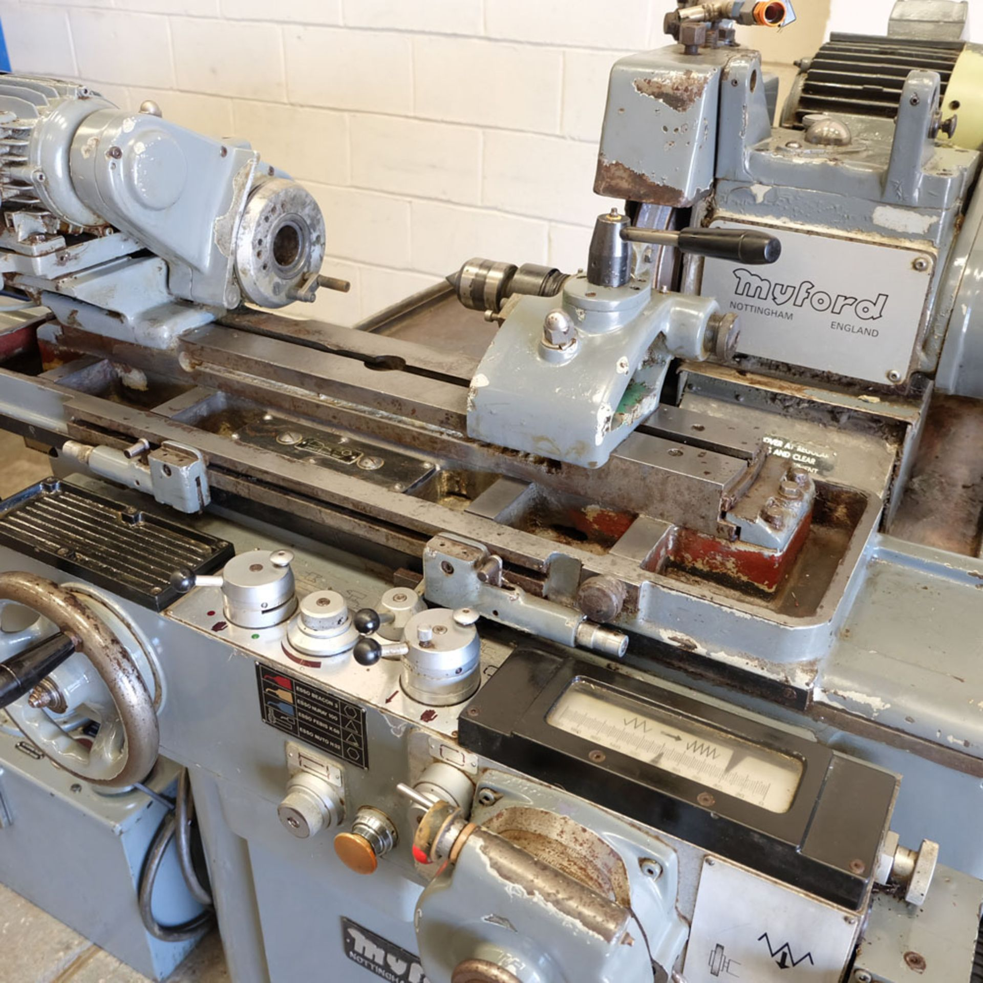 Myford Model MG12-HPT Automatic Cycle Traverse & Plunge Grinder. - Image 3 of 8