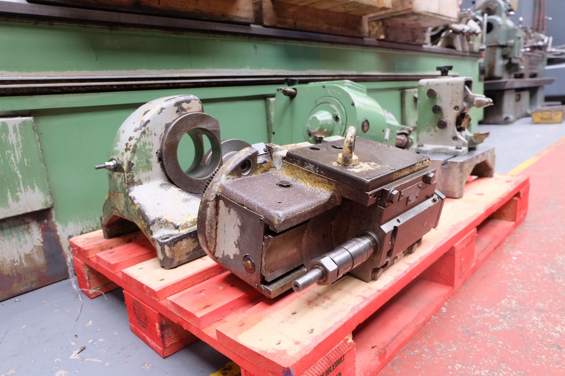 Heckert Type ZFWVG 25 x 5000 Long Thread and Spline Shaft Milling Machine. Centre Height 250mm. - Image 21 of 21
