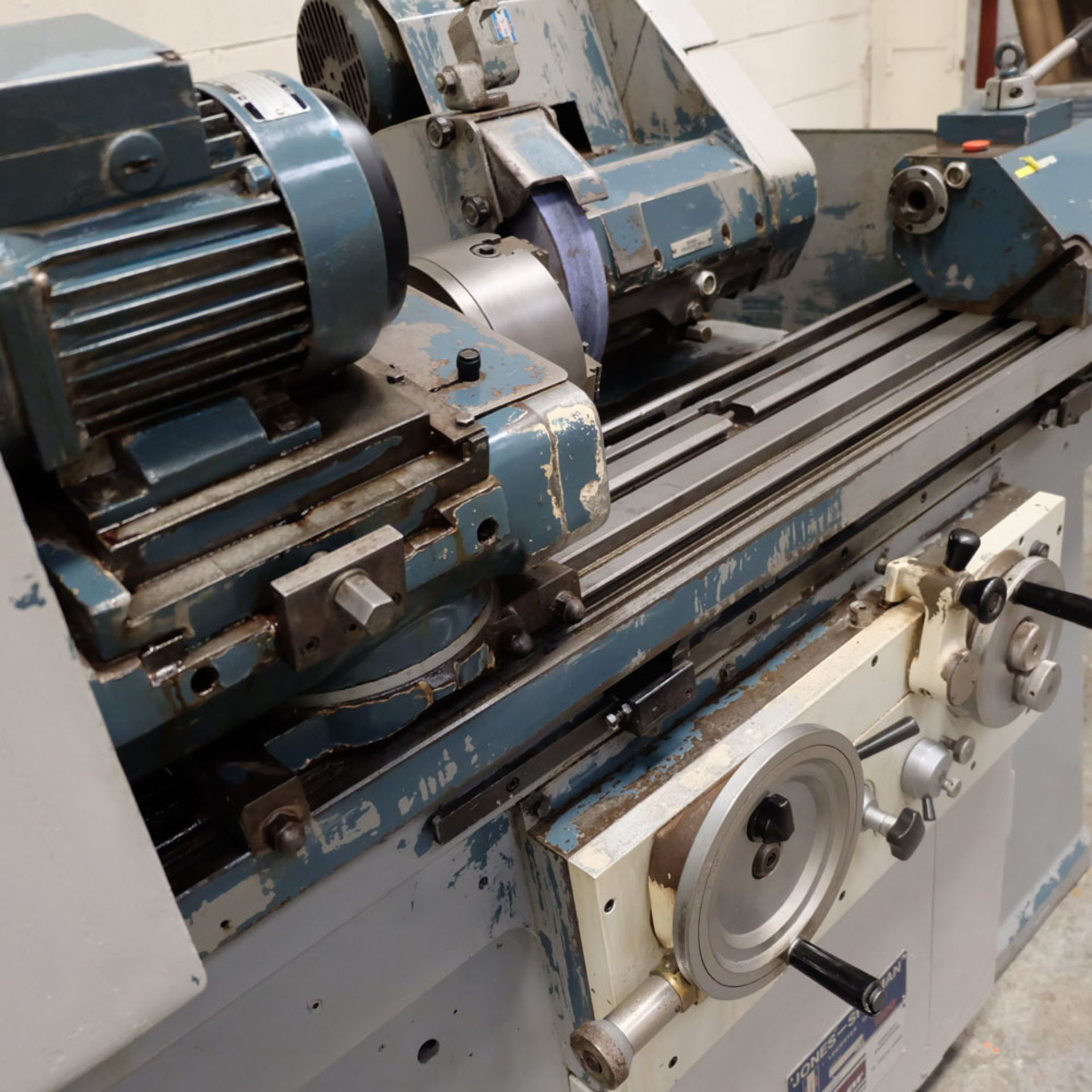 "Jones & Shipman Model 1311 EIU Universal Cylindrical Grinder. Capacity 10"" x 18"". - Image 6 of 10"