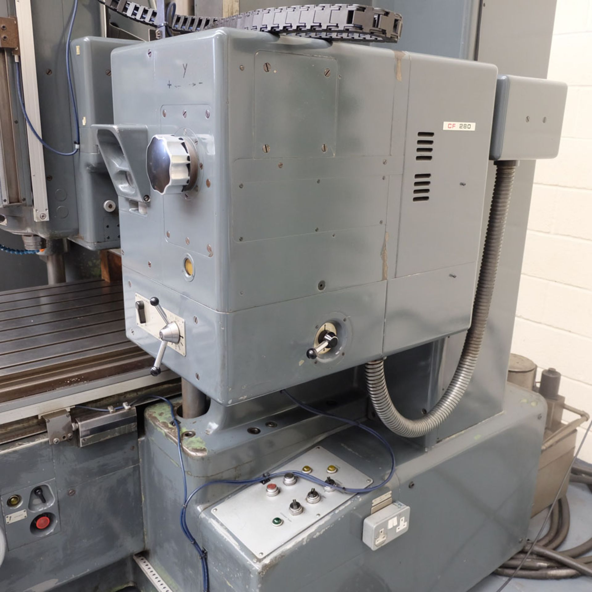 SIP Genevoise Hydroptic - 6A High Precision Jig Boring And Milling Machine. - Image 7 of 25