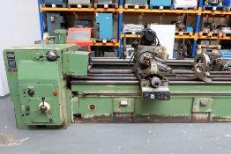 Heckert Type ZFWVG 25 x 5000 Long Thread and Spline Shaft Milling Machine. Centre Height 250mm.