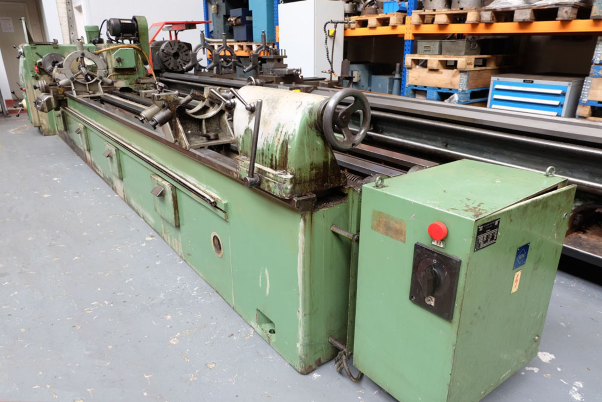 Heckert Type ZFWVG 25 x 5000 Long Thread and Spline Shaft Milling Machine. Centre Height 250mm. - Image 2 of 21
