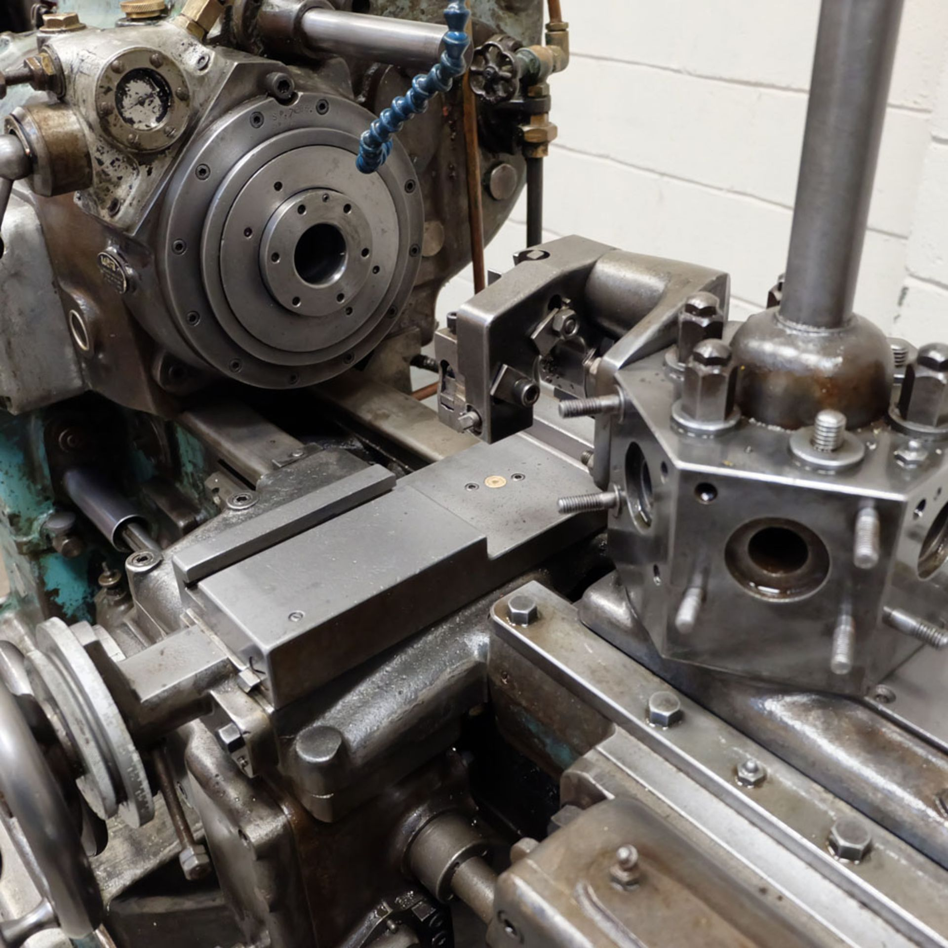 """Ward 2 C Capstan Lathe. With Collet Chuck. Swing Over Bed 12 3/4"""". - Image 4 of 6"""