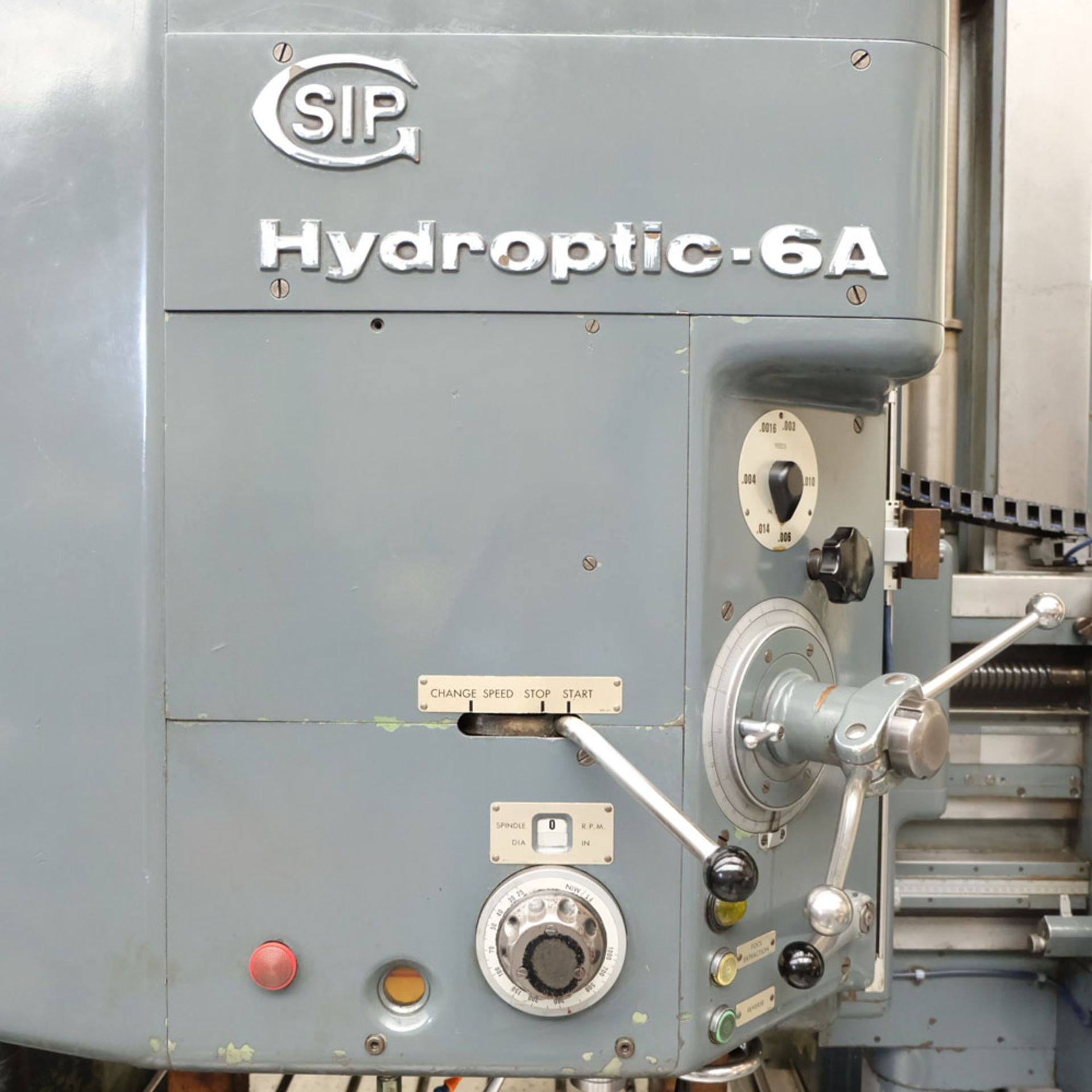 SIP Genevoise Hydroptic - 6A High Precision Jig Boring And Milling Machine. - Image 4 of 25