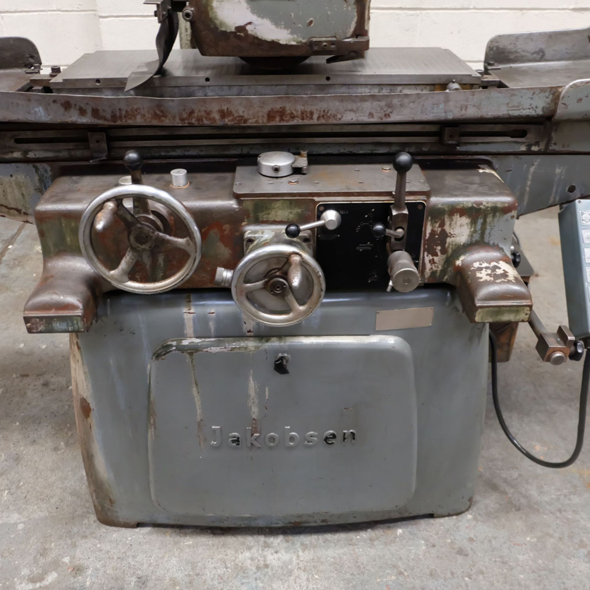 Jakobson Surface Grinder. Table Size 800 x 250mm. - Image 3 of 5
