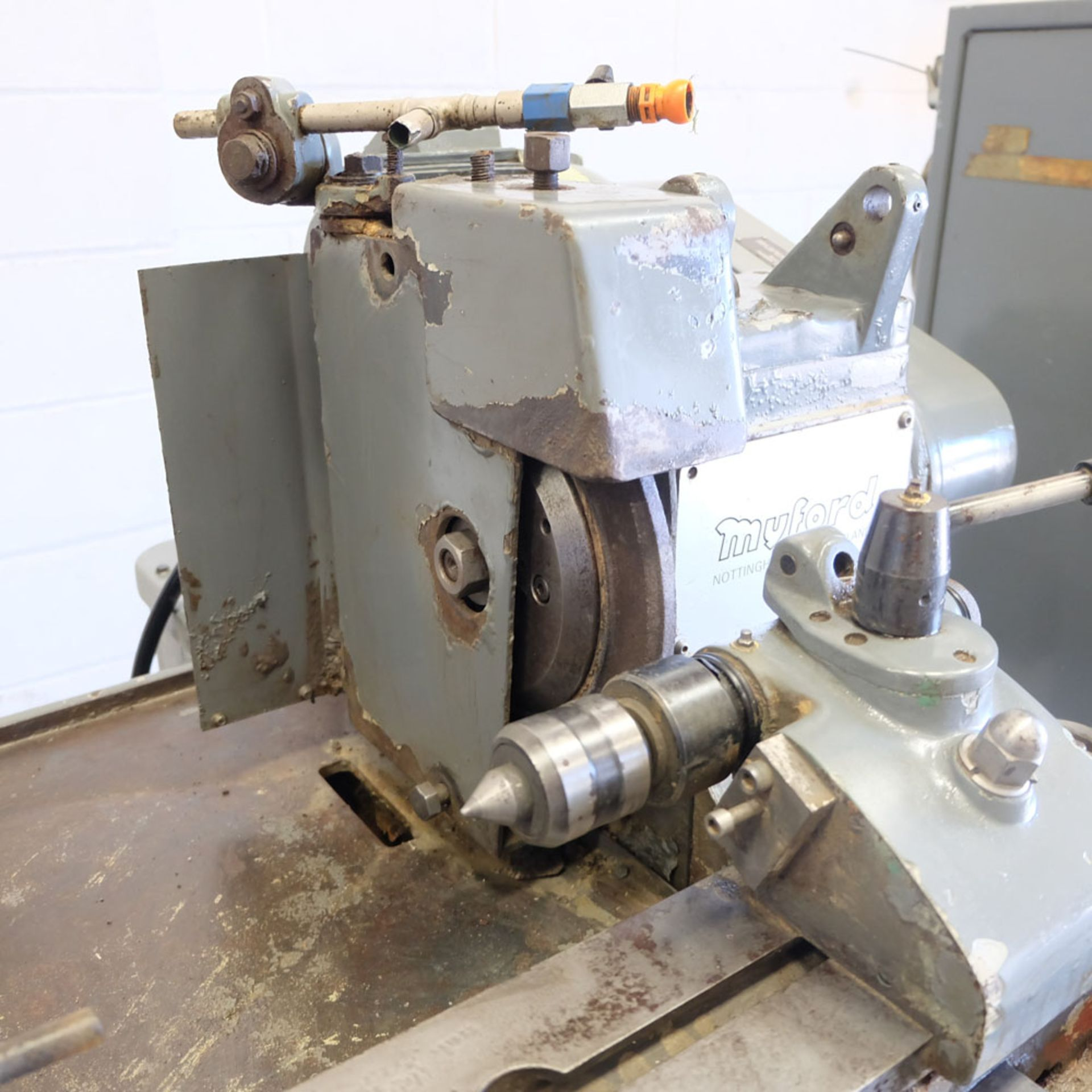 Myford Model MG12-HPT Automatic Cycle Traverse & Plunge Grinder. - Image 4 of 8