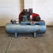 HPC Type S/H 12A Garage Type Air Compressor RPM 700. Motor 3KW.