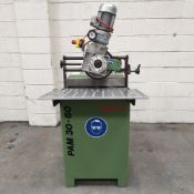 Alme AG PAM 30-60 Edgemill Series 500 Edge Milling Machine. Workpiece Height: 3mm To 100mm.